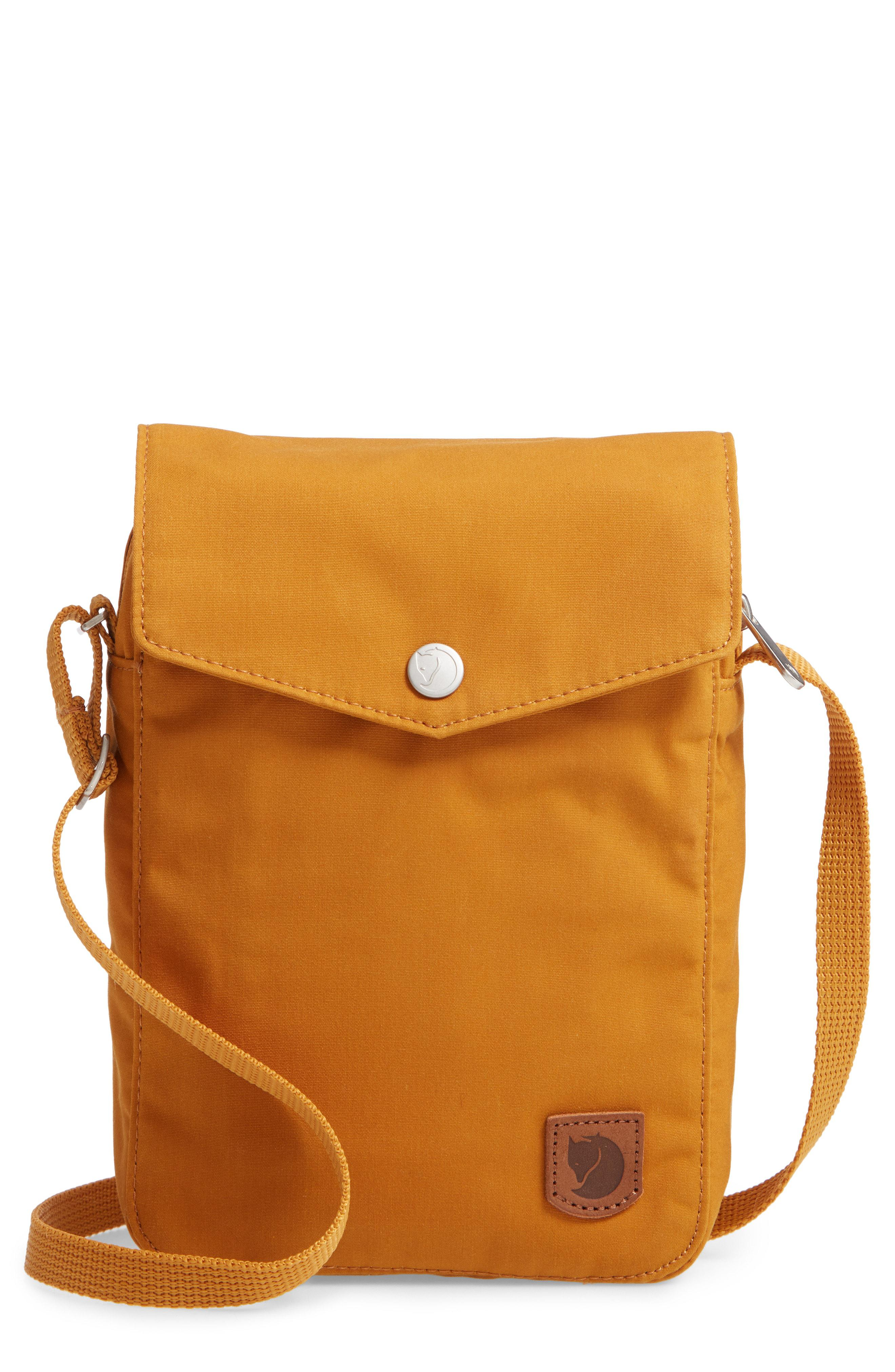 Lyst - Fjallraven Greenland Pocket Crossbody Bag - in Orange 02146ebc1a247