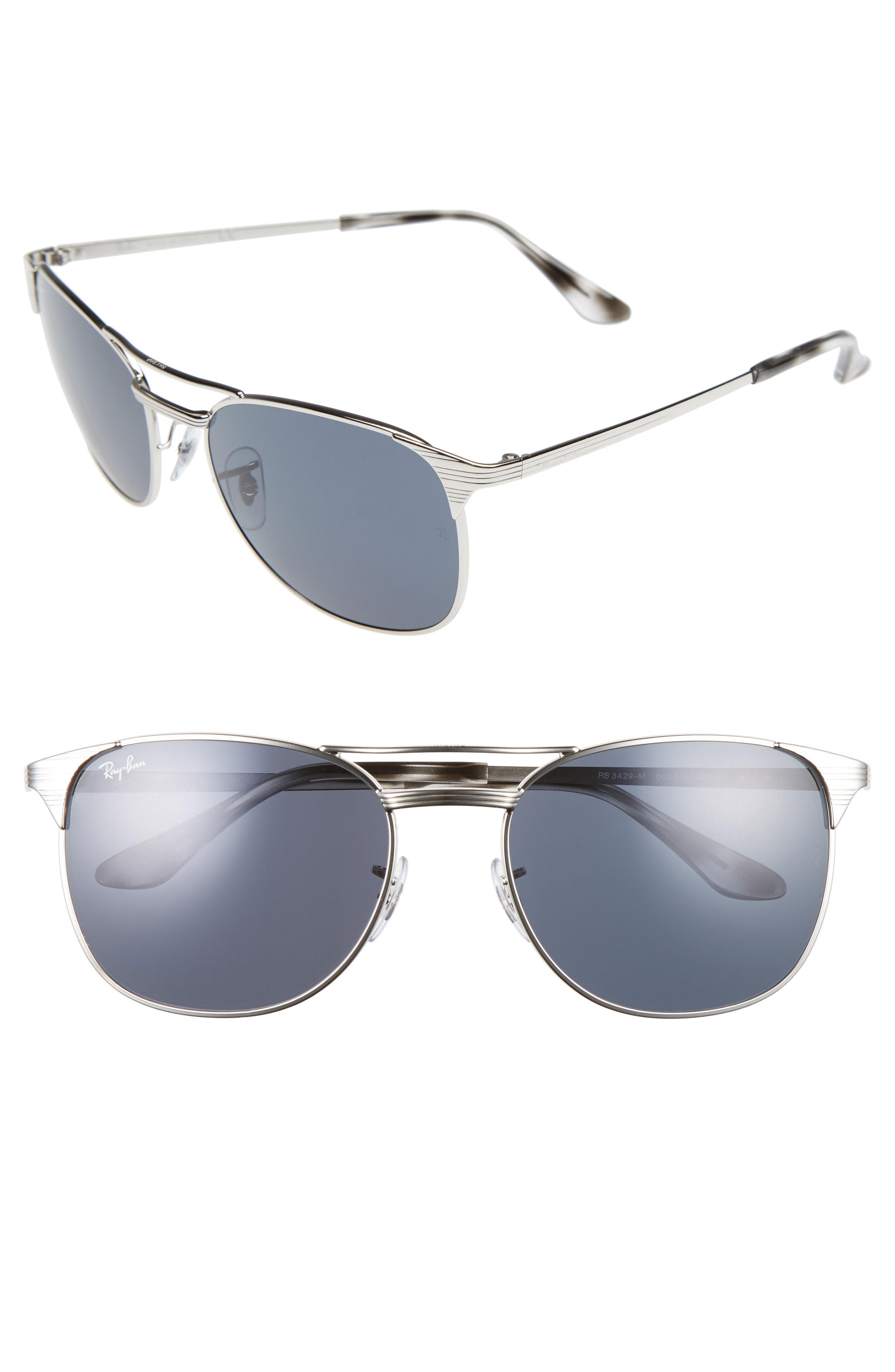 83bcd13239 Lyst - Ray-Ban Signet 58mm Square Sunglasses - for Men