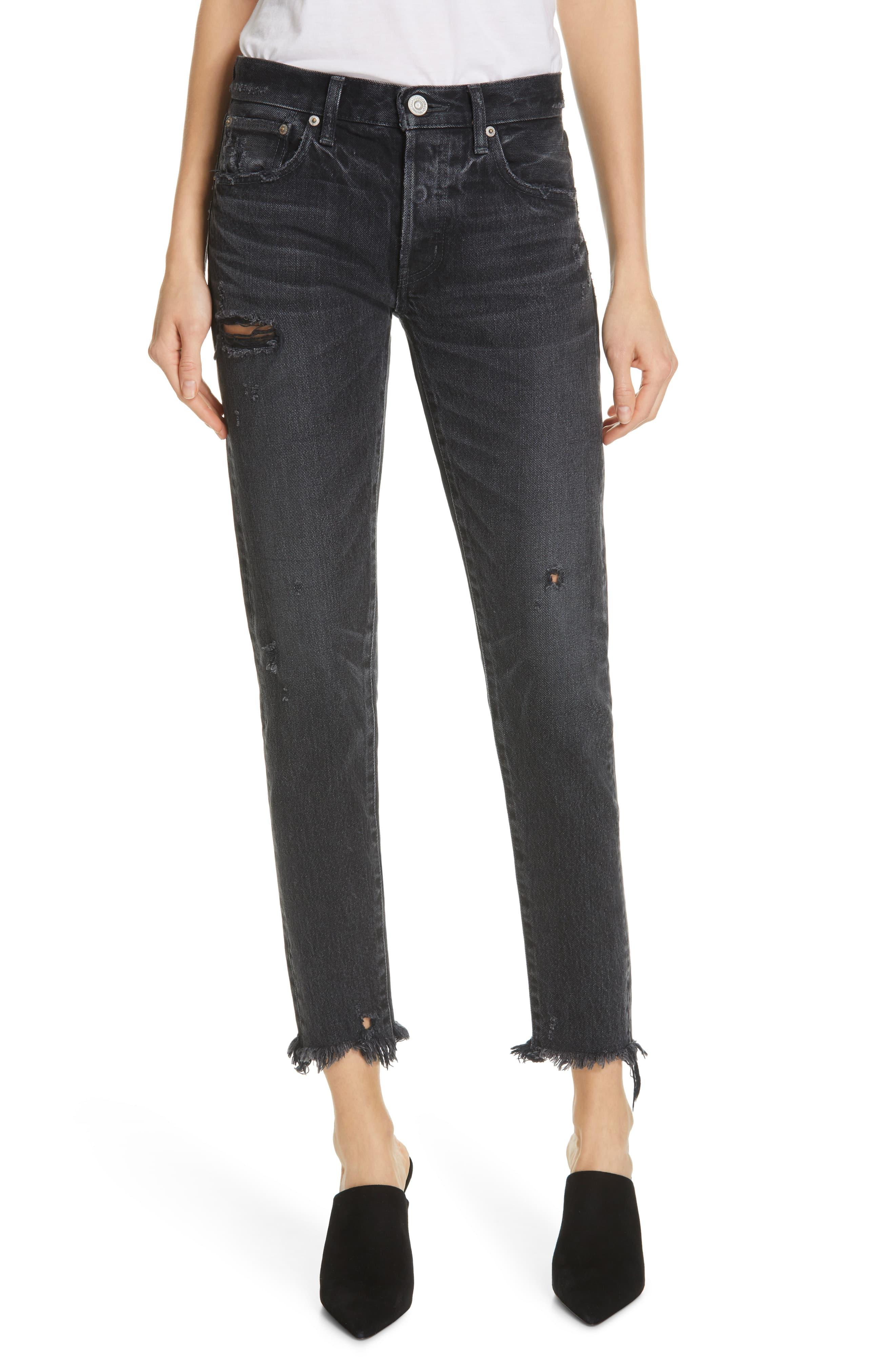843733a34da Moussy Kelley Tapered Jean. Size 25,26,28,29,30. in Black - Save 15 ...