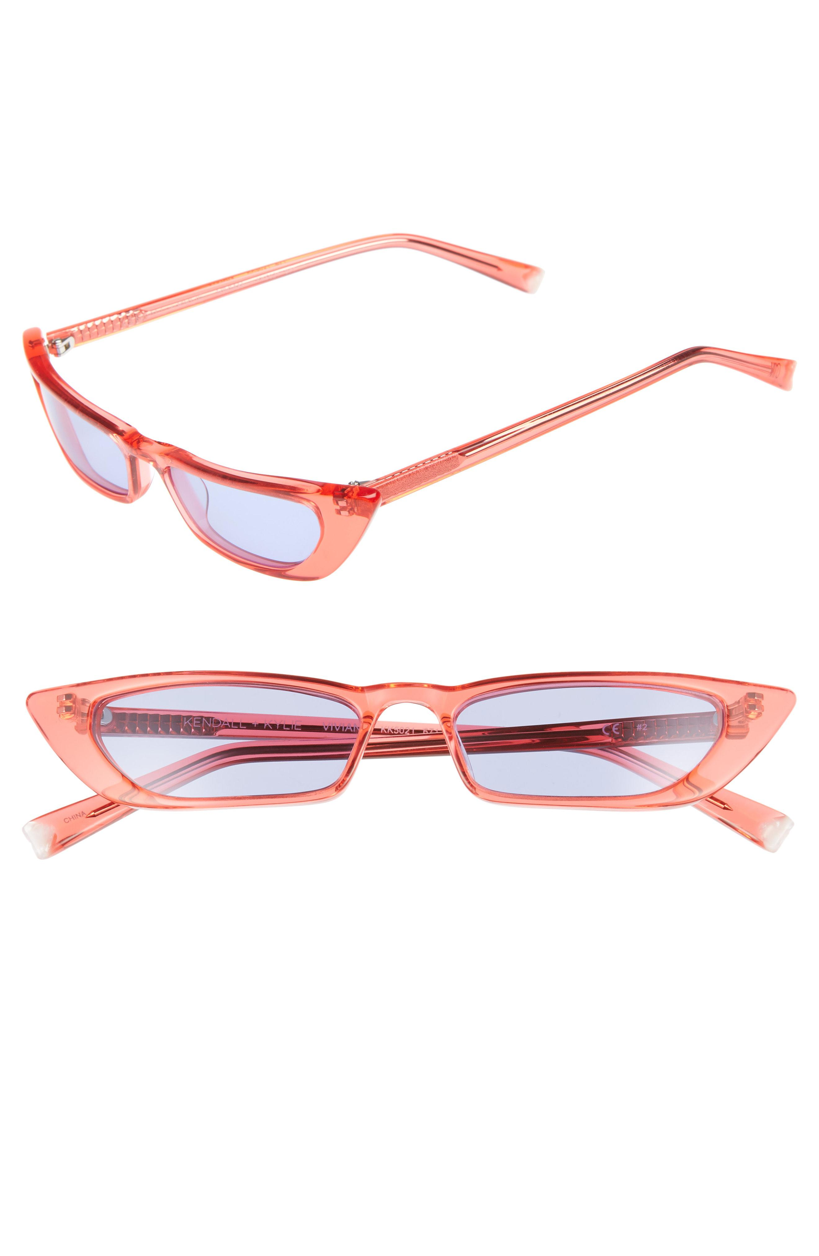 ca9da06be11 Kendall + Kylie. Women s Vivian 51mm Extreme Cat Eye Sunglasses -