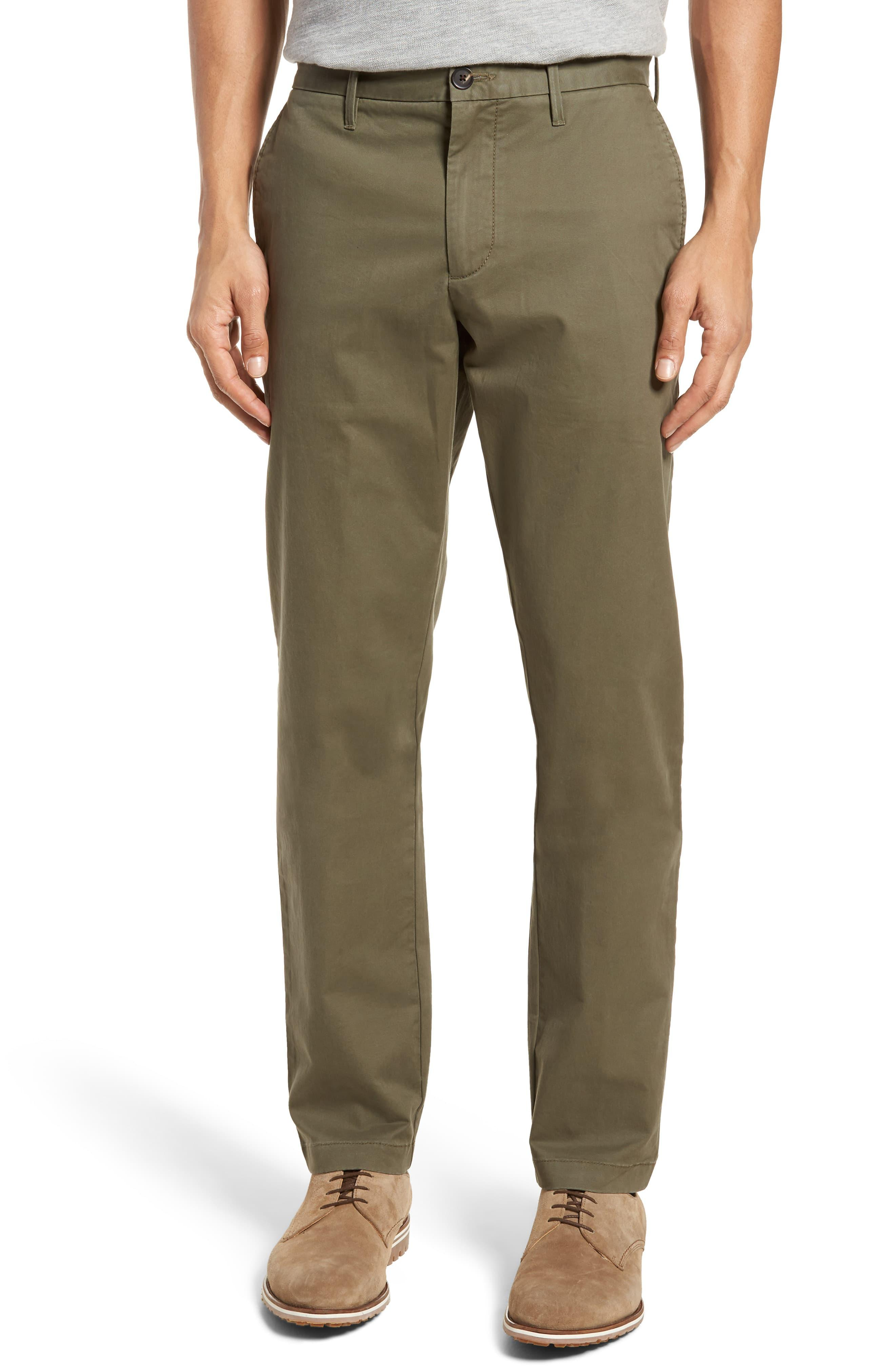 60a08e05 1901 Ballard Slim Fit Stretch Chino Pants in Green for Men - Save 51 ...