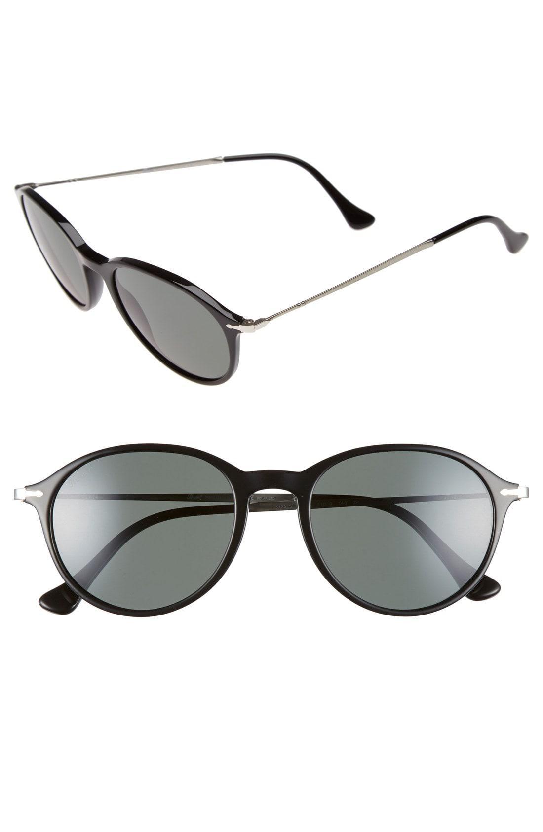 25504f8eedc19e Lyst - Persol 51mm Polarized Sunglasses in Black for Men