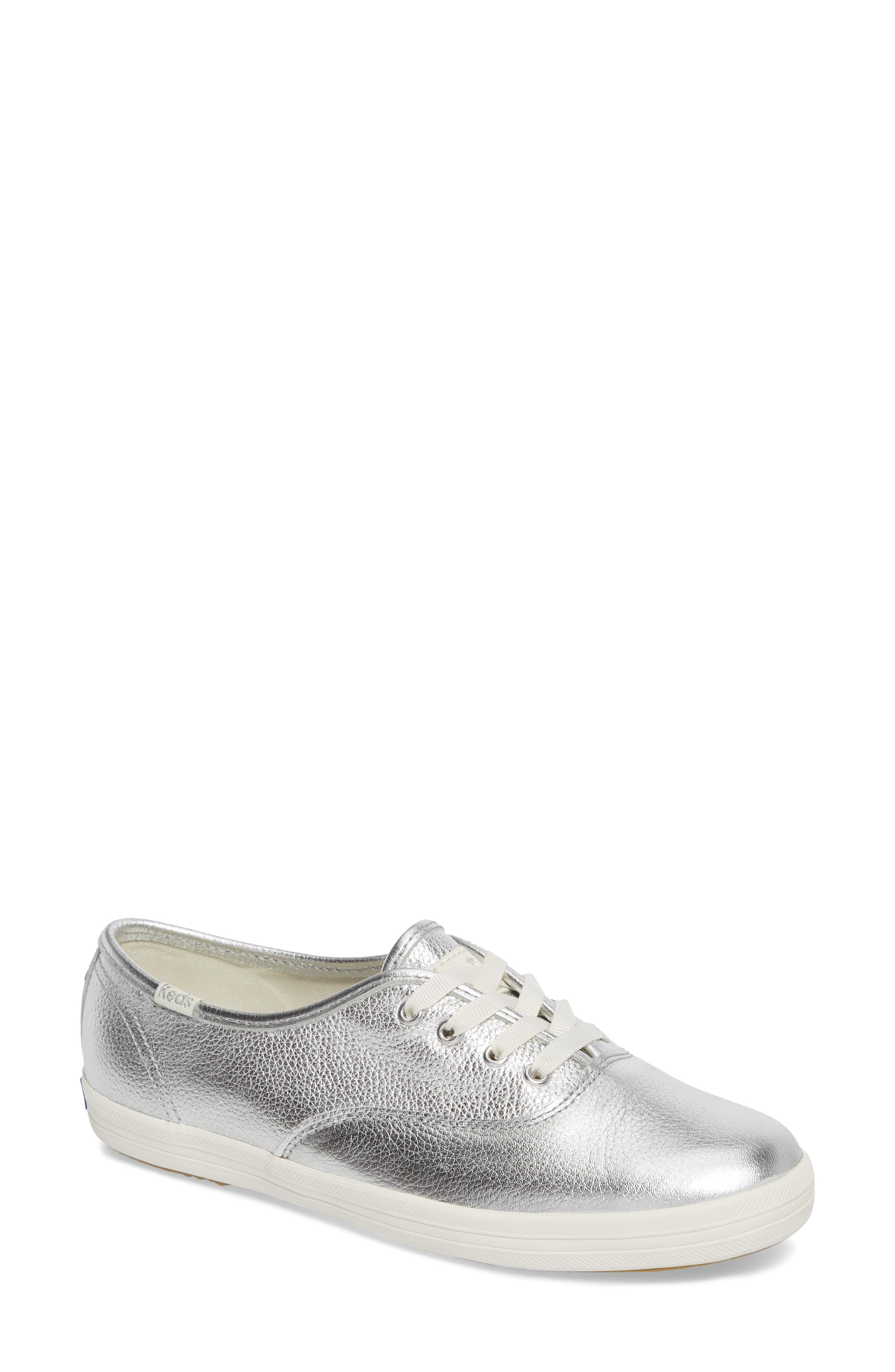 efd1011f78e4 Lyst - Kate Spade Keds For Kate Spade New York Metallic Sneaker in ...