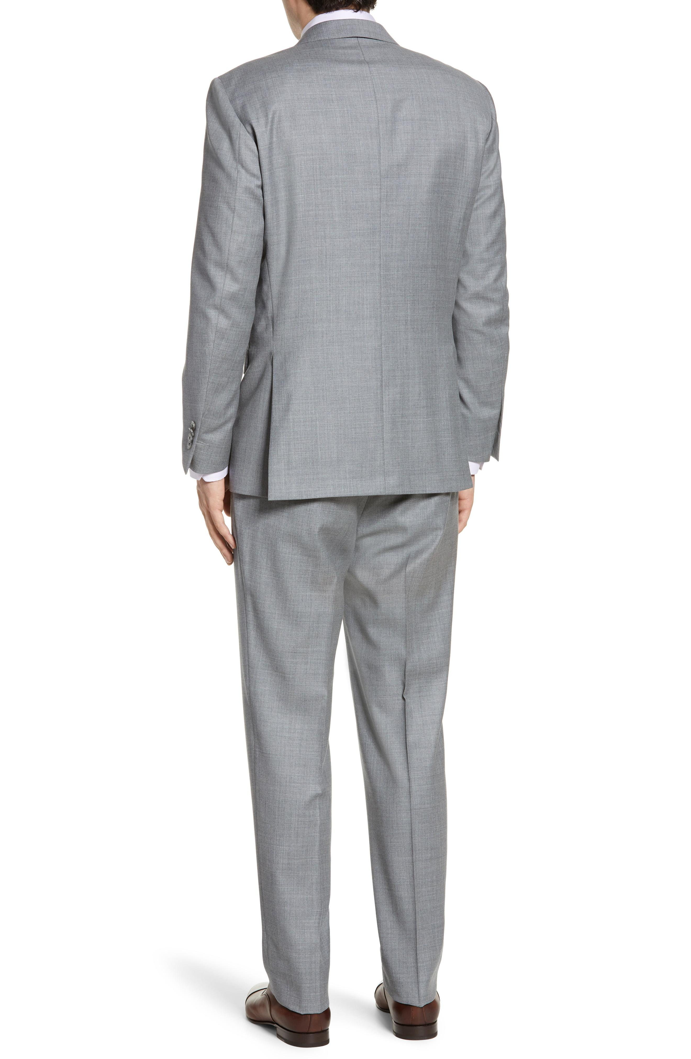 845e7c4a036ffb ... Flynn Classic Fit Solid Wool Suit for Men - Lyst. View fullscreen