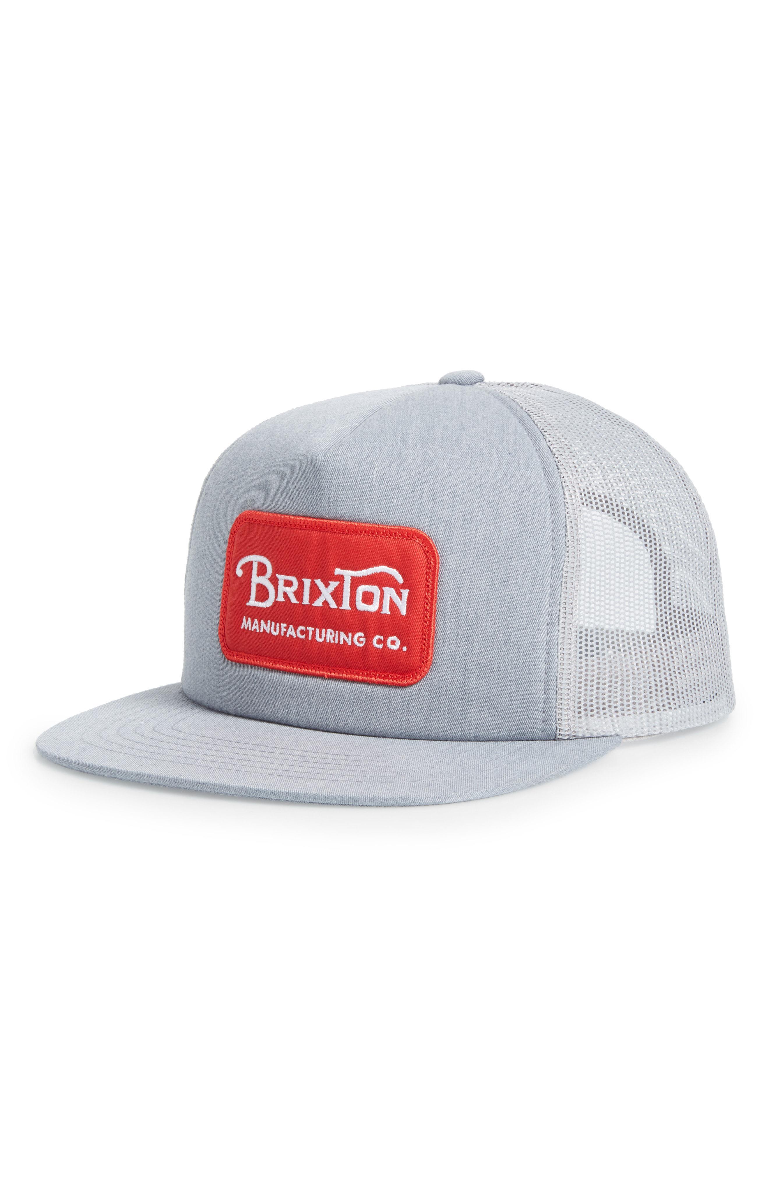 Lyst - Brixton Grade Snapback Cap - for Men 5362cbc7818c