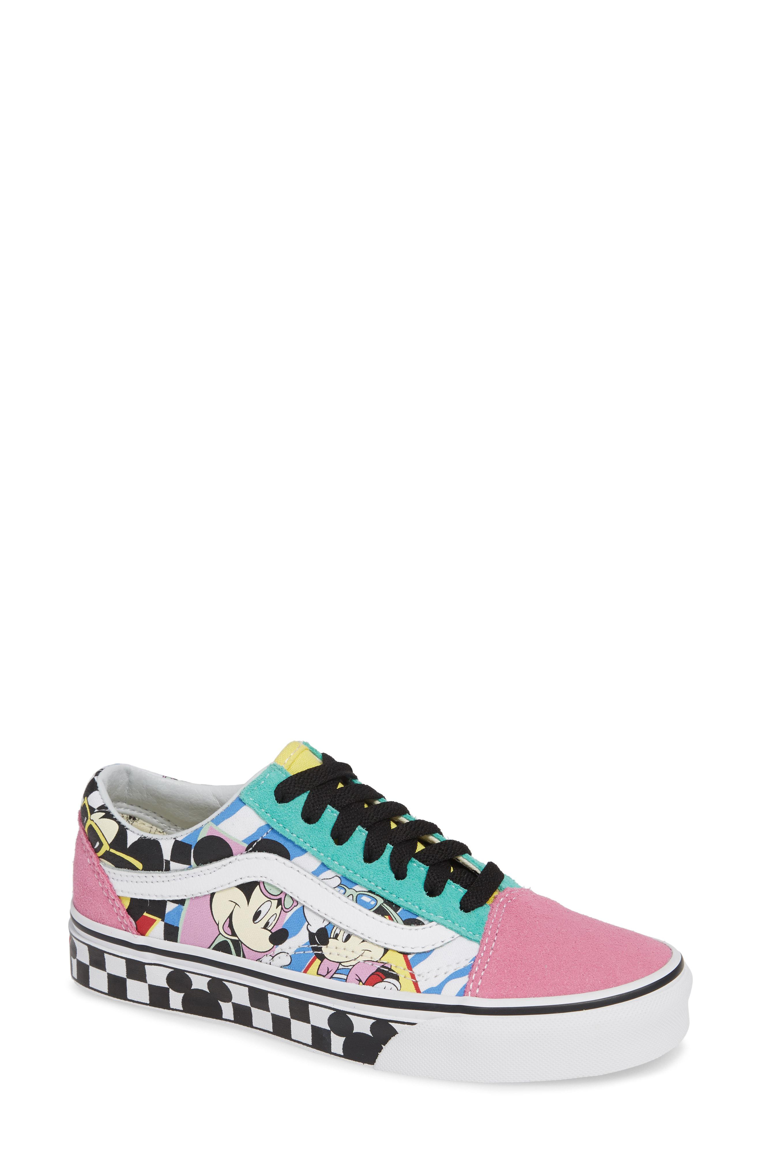 0f0febce92c Lyst - Vans X Disney Mickey Mouse Ua Old Skool Low-top Sneaker in Green