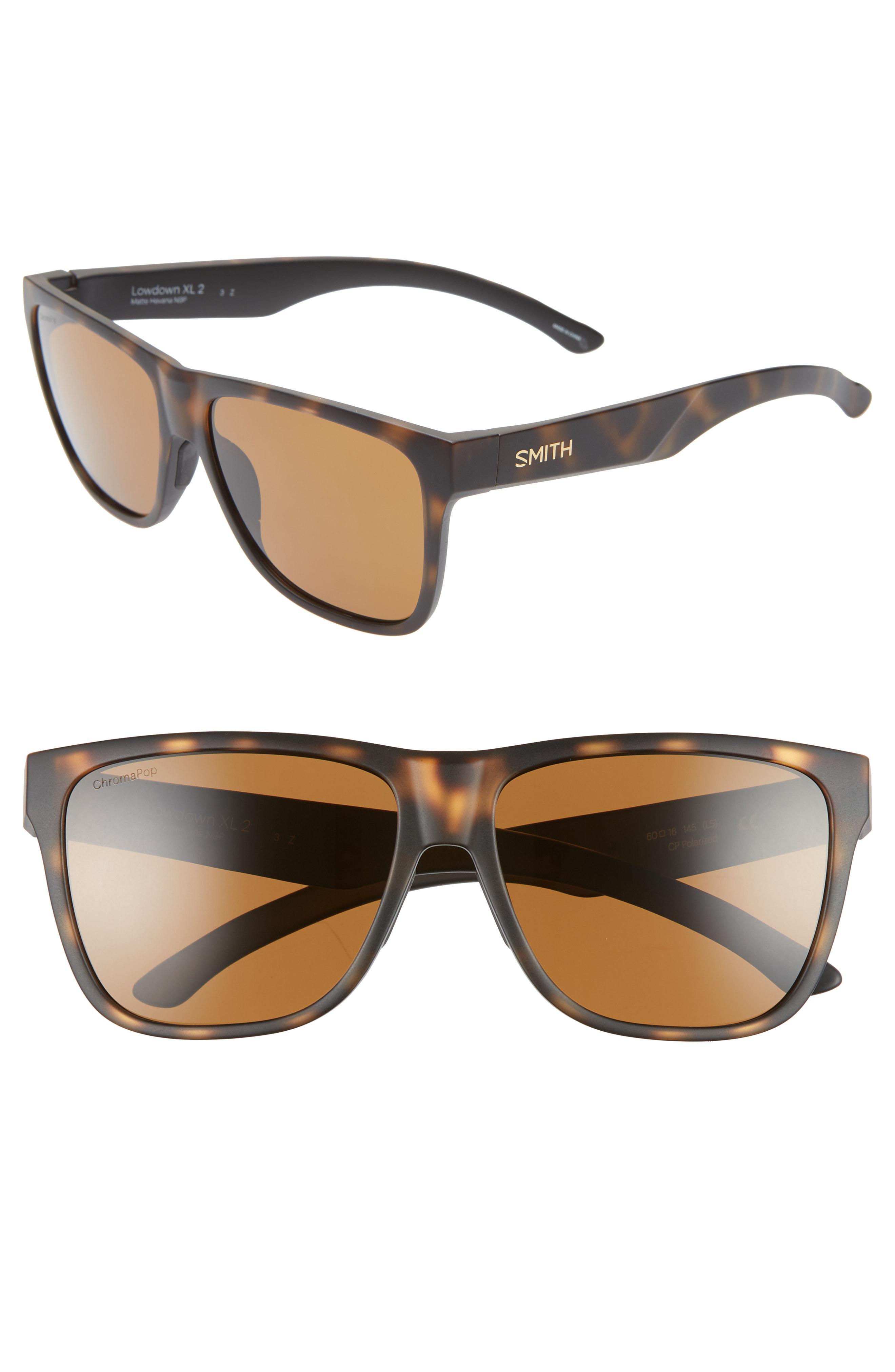 df8bc04444e Smith - Brown Lowdown Xl 2 60mm Chromapop(tm) Square Sunglasses - Lyst.  View fullscreen