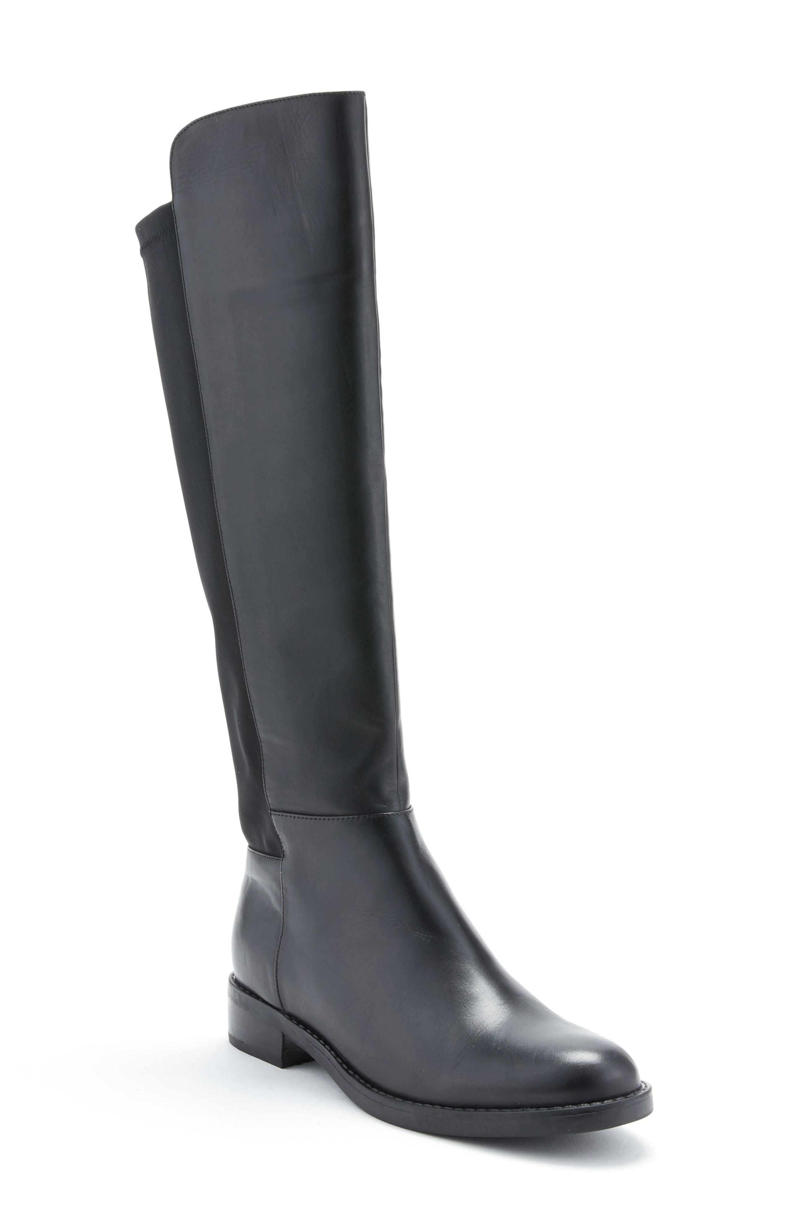 a1fe44f4fc6 Lyst - Blondo Ellie Waterproof Knee High Riding Boot in Black - Save 24%