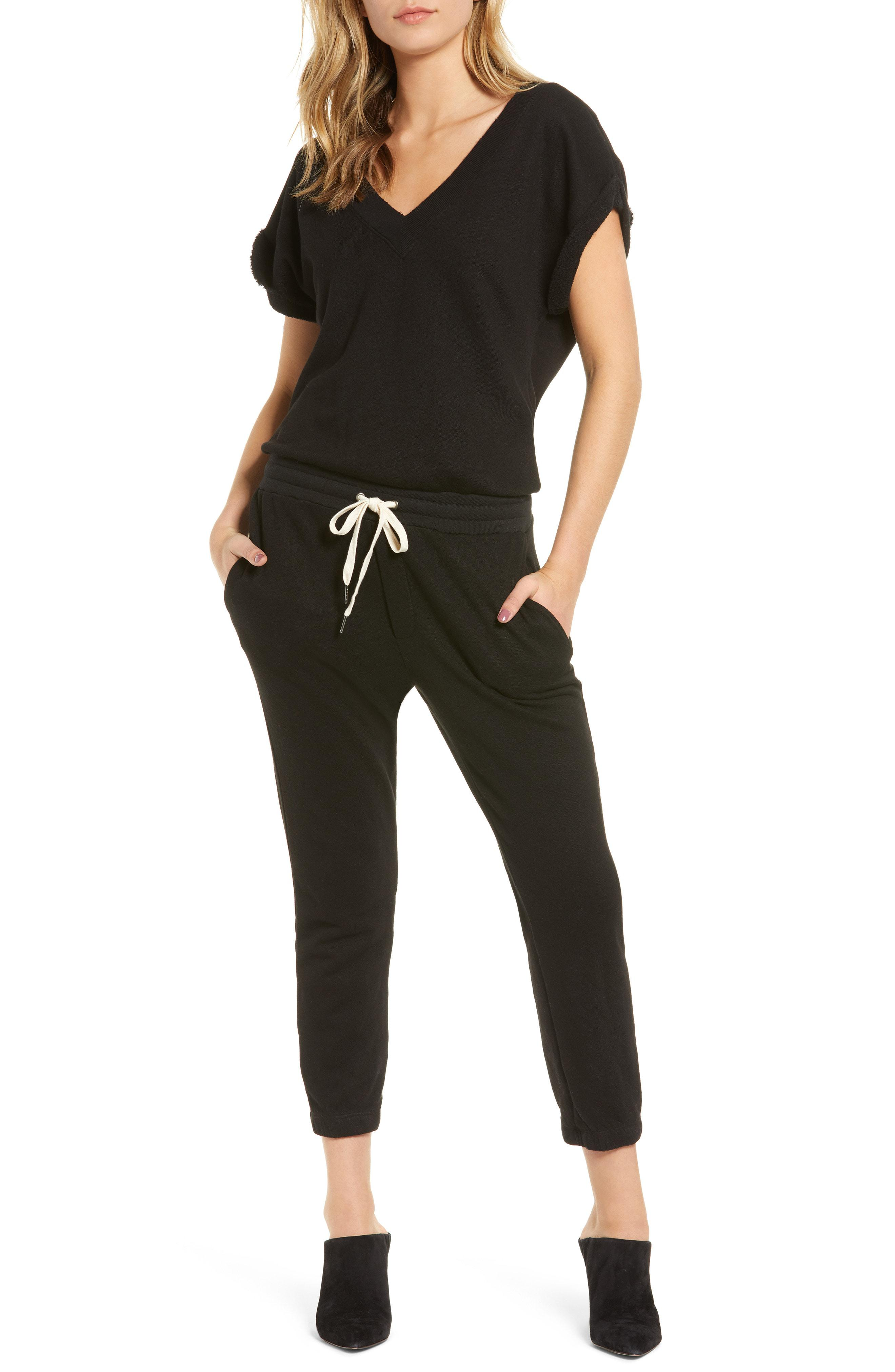 961bf7b42835 Lyst - N Philanthropy Disco Jumpsuit in Black