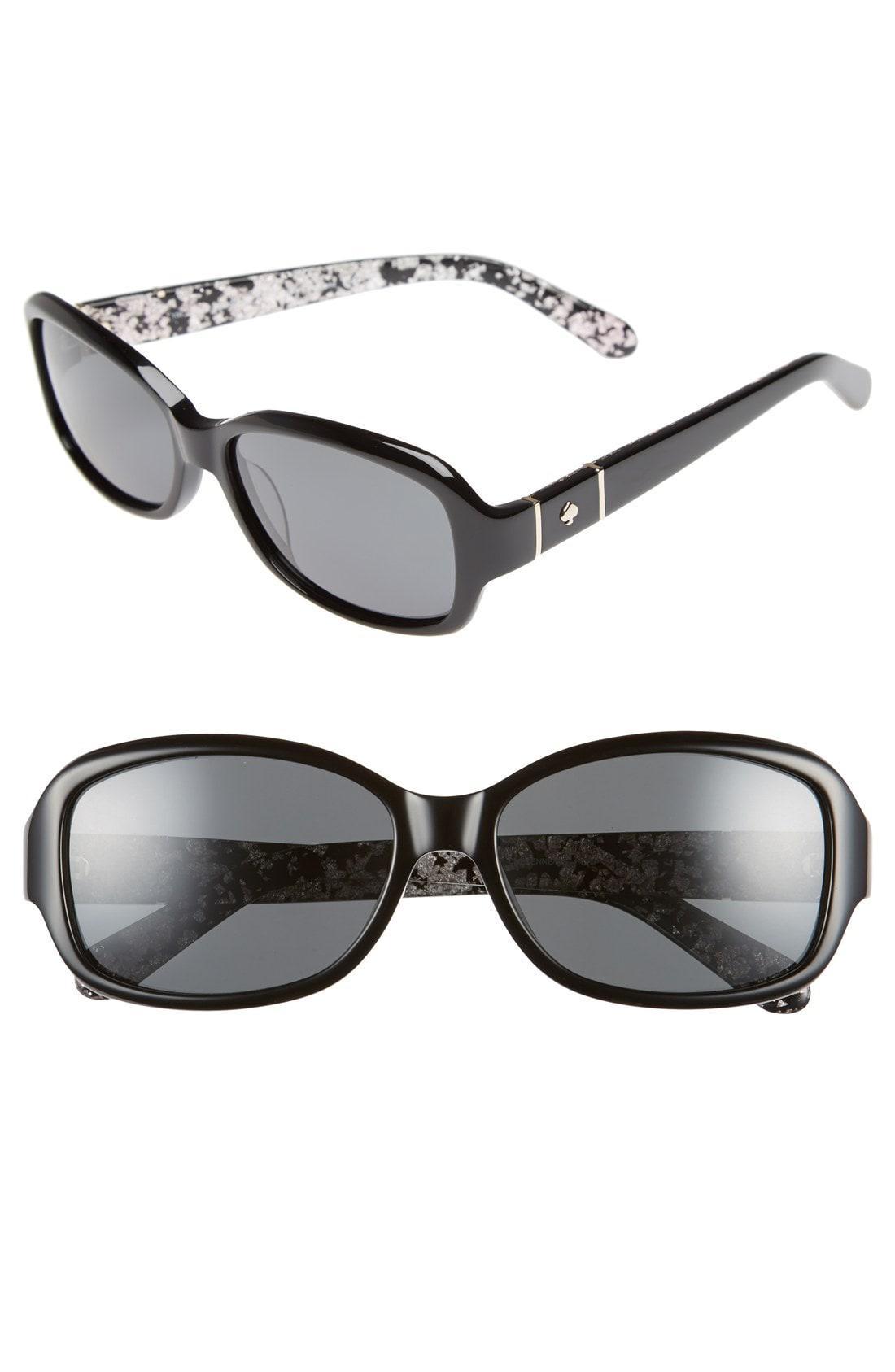 a3a3ebf52fe7d Kate Spade. Women s Cheyenne 55mm Polarized Sunglasses -