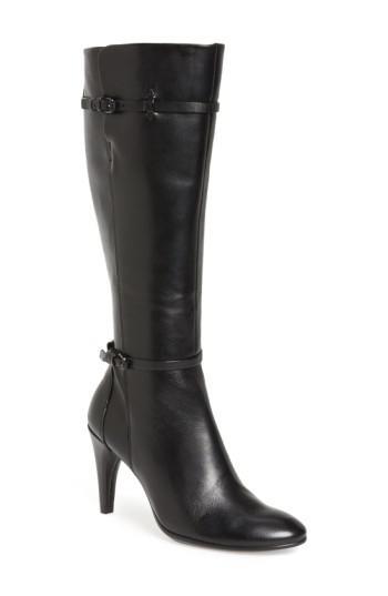 303053b3b14 Lyst - Ecco  shape 75  Knee High Zip Boot in Black