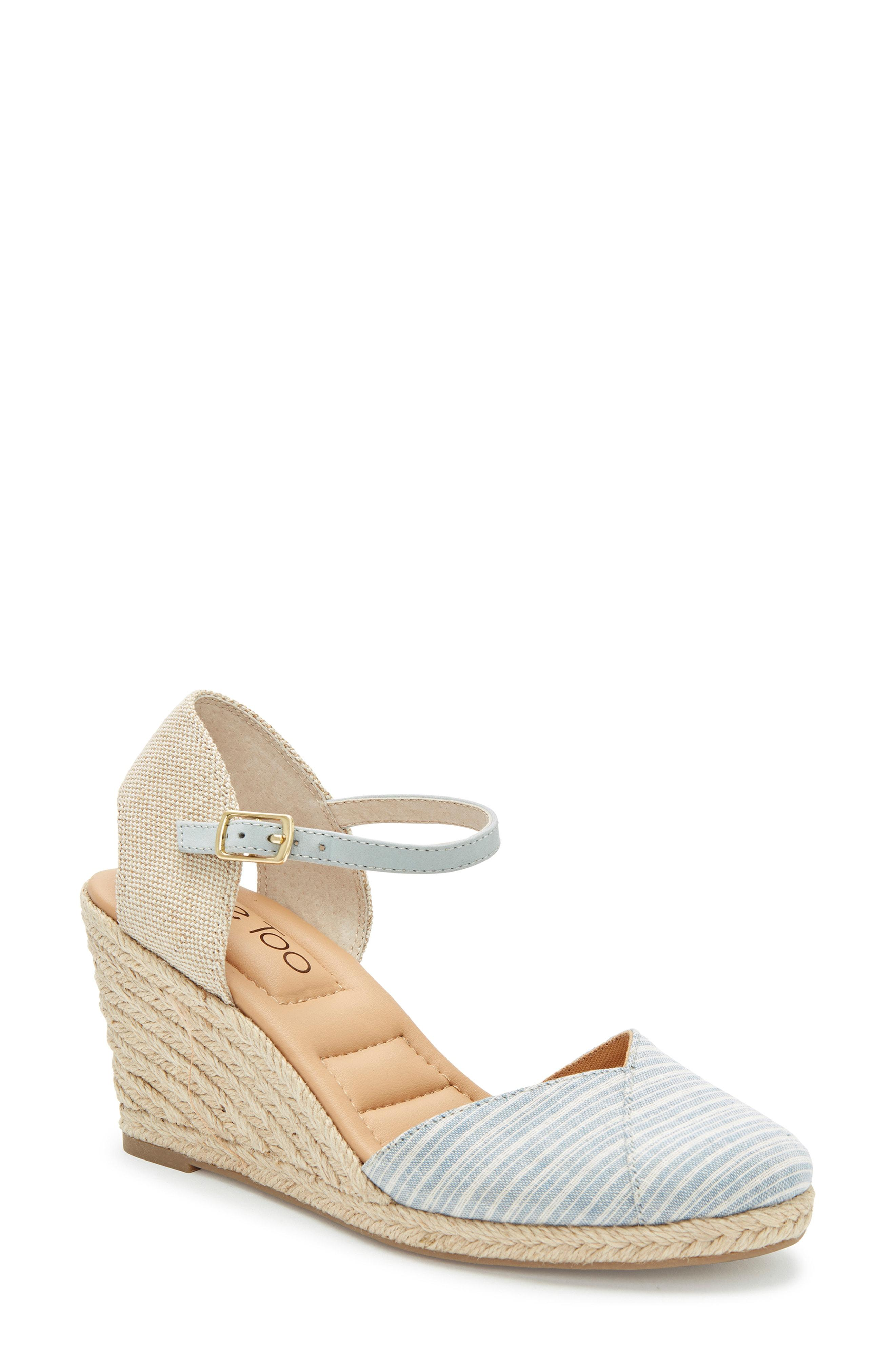 Me Too. Women's Brenna Espadrille Wedge Sandal