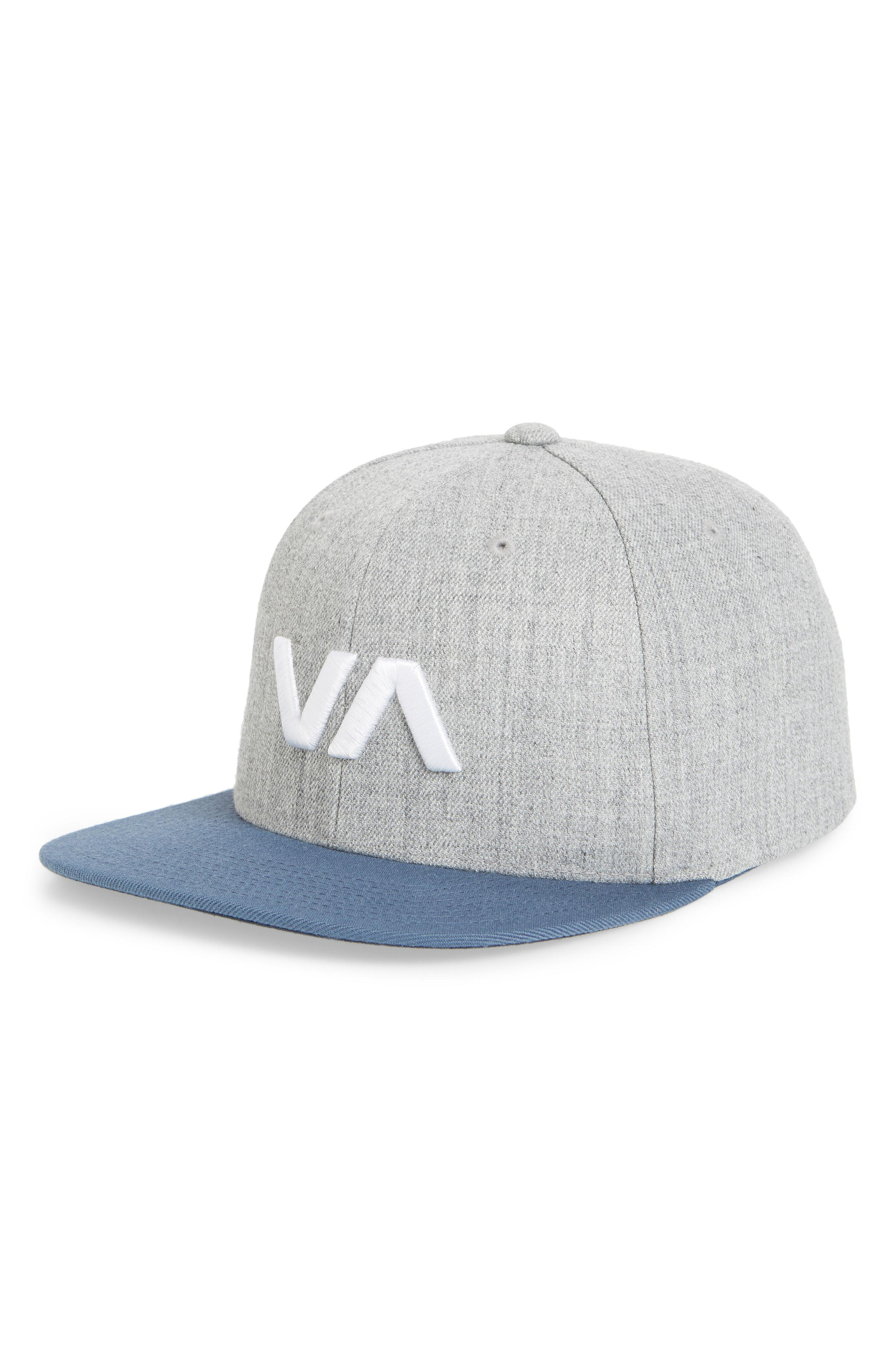 e1fe7097 Lyst - RVCA Va Snapback Ii Snapback Hat in Blue for Men