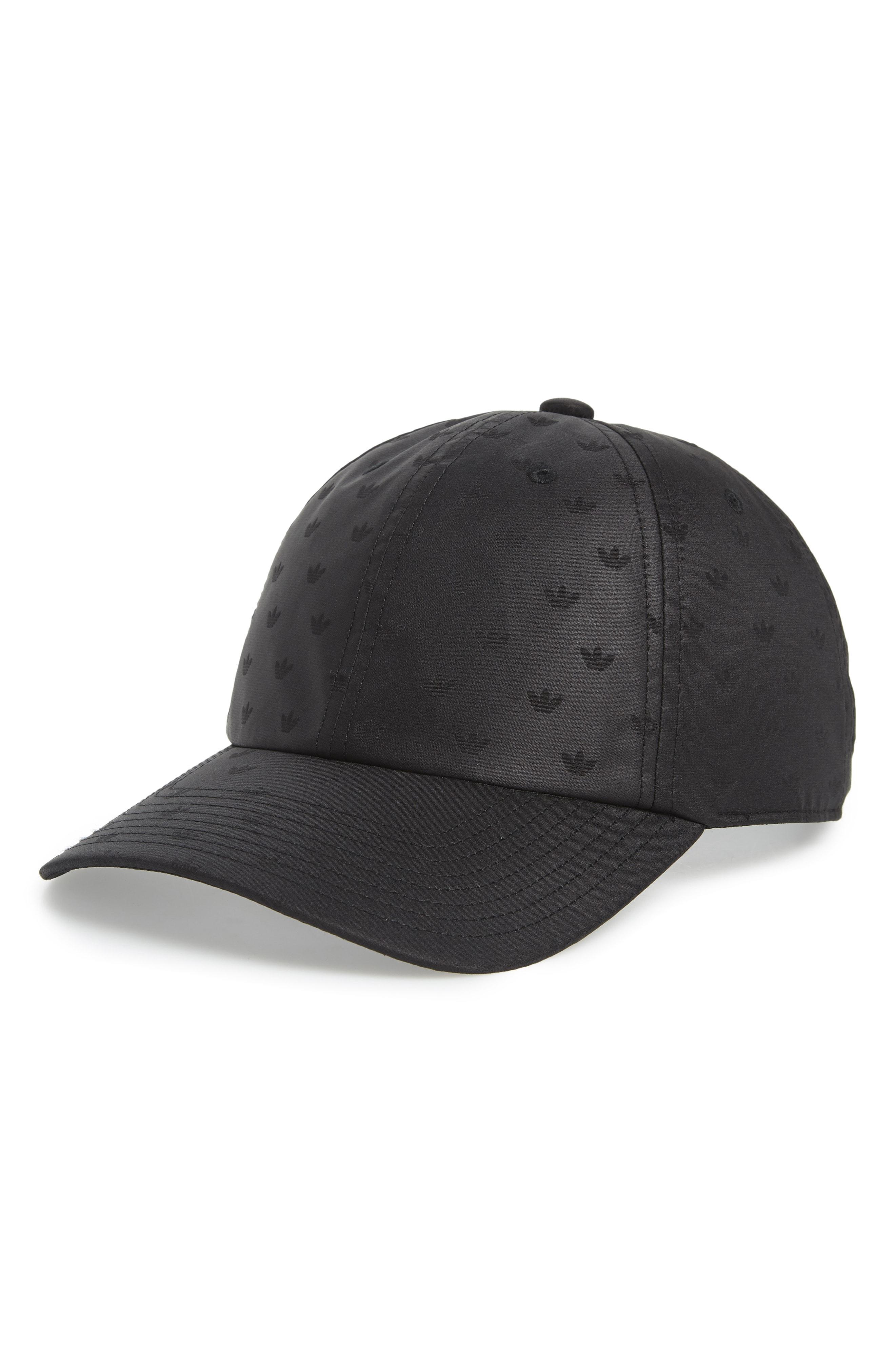 low cost 14ecc 3e42c adidas. Women s Black Originals Mini Trefoil Debossed Relaxed Cap
