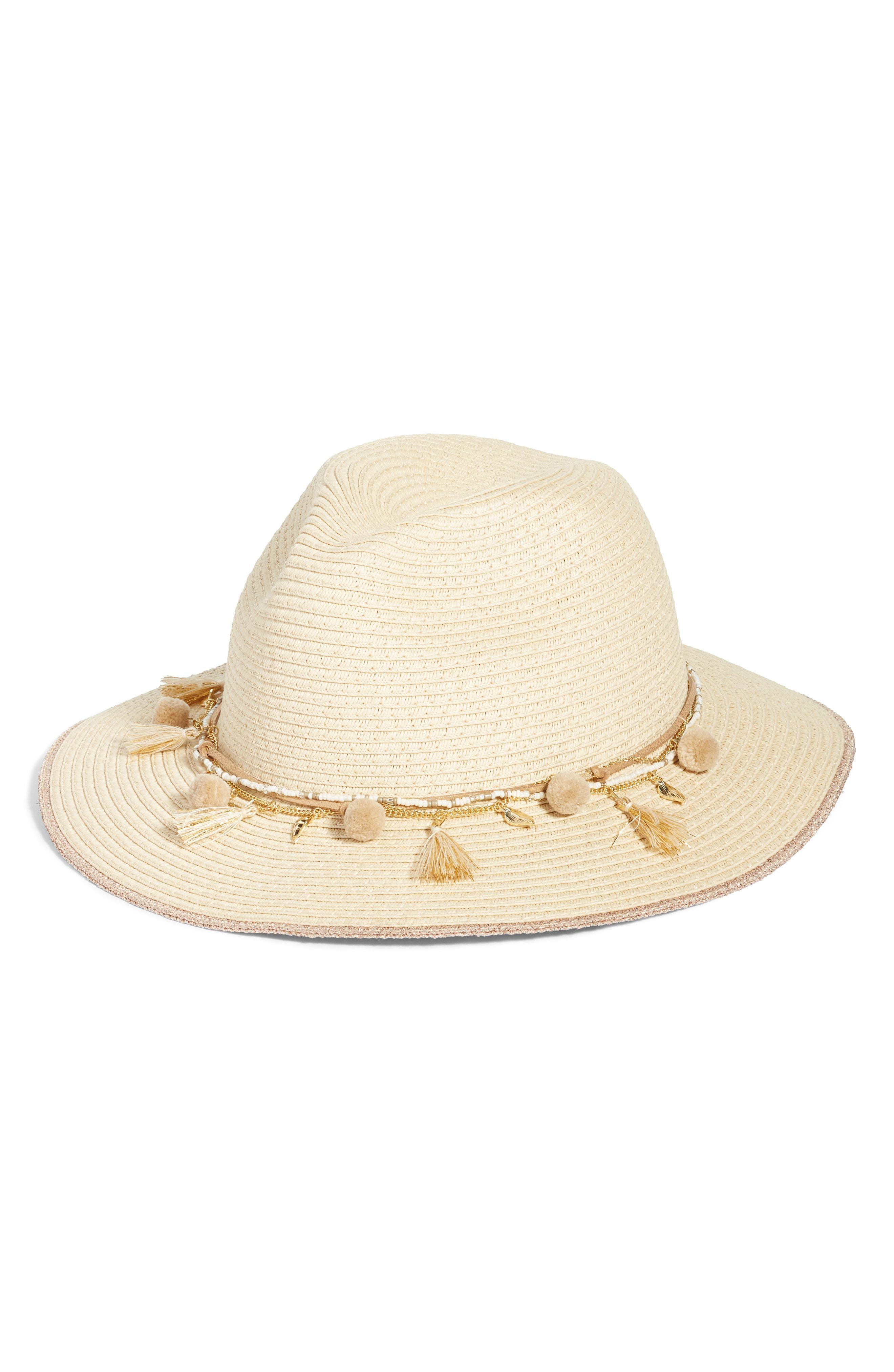 ed5531df9d6 Echo Corella Panama Hat - in Natural - Lyst