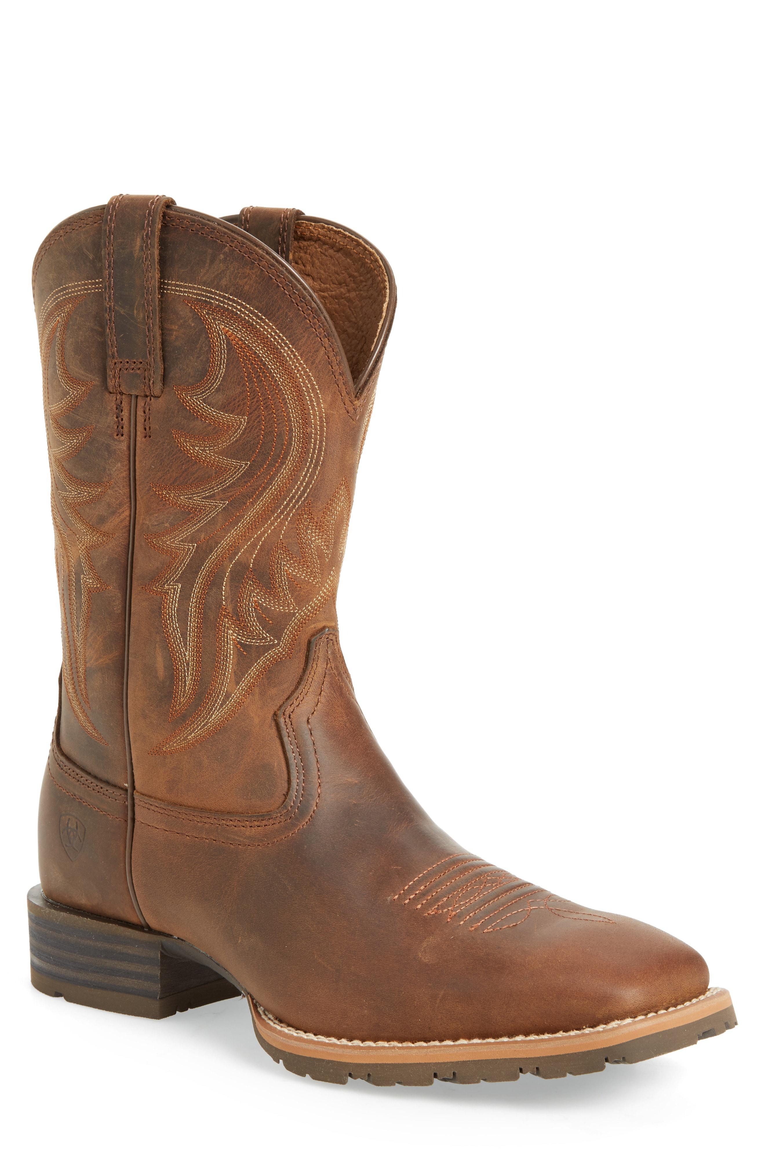 7a40107bb77 Lyst - Ariat Hybrid Rancher Cowboy Boot in Brown for Men