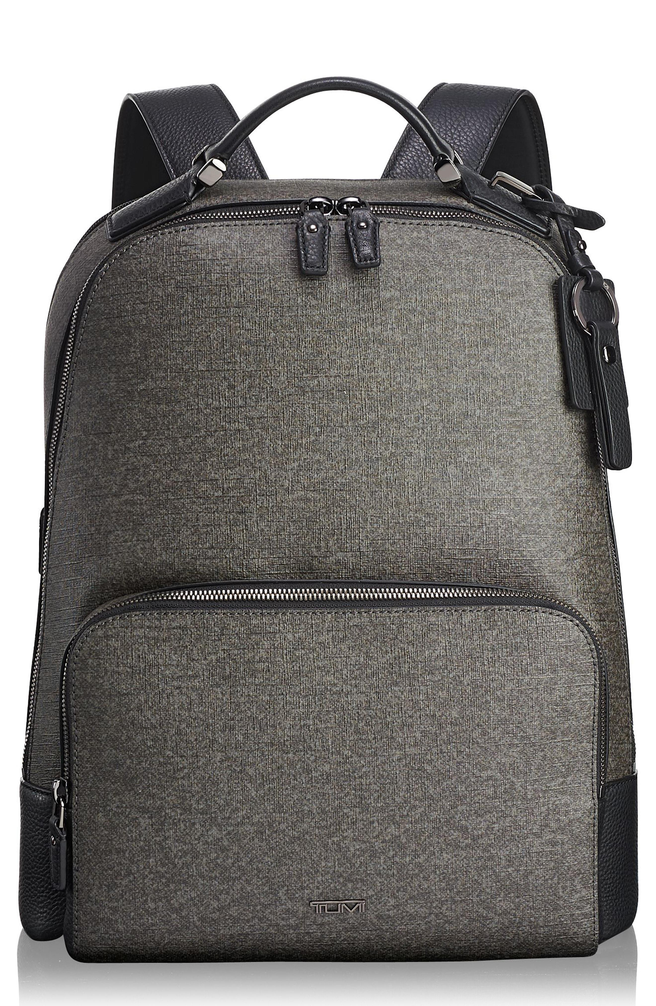 d59543042ac2 Lyst - Tumi Stanton Gail Leather Laptop Backpack in Gray - Save 20%