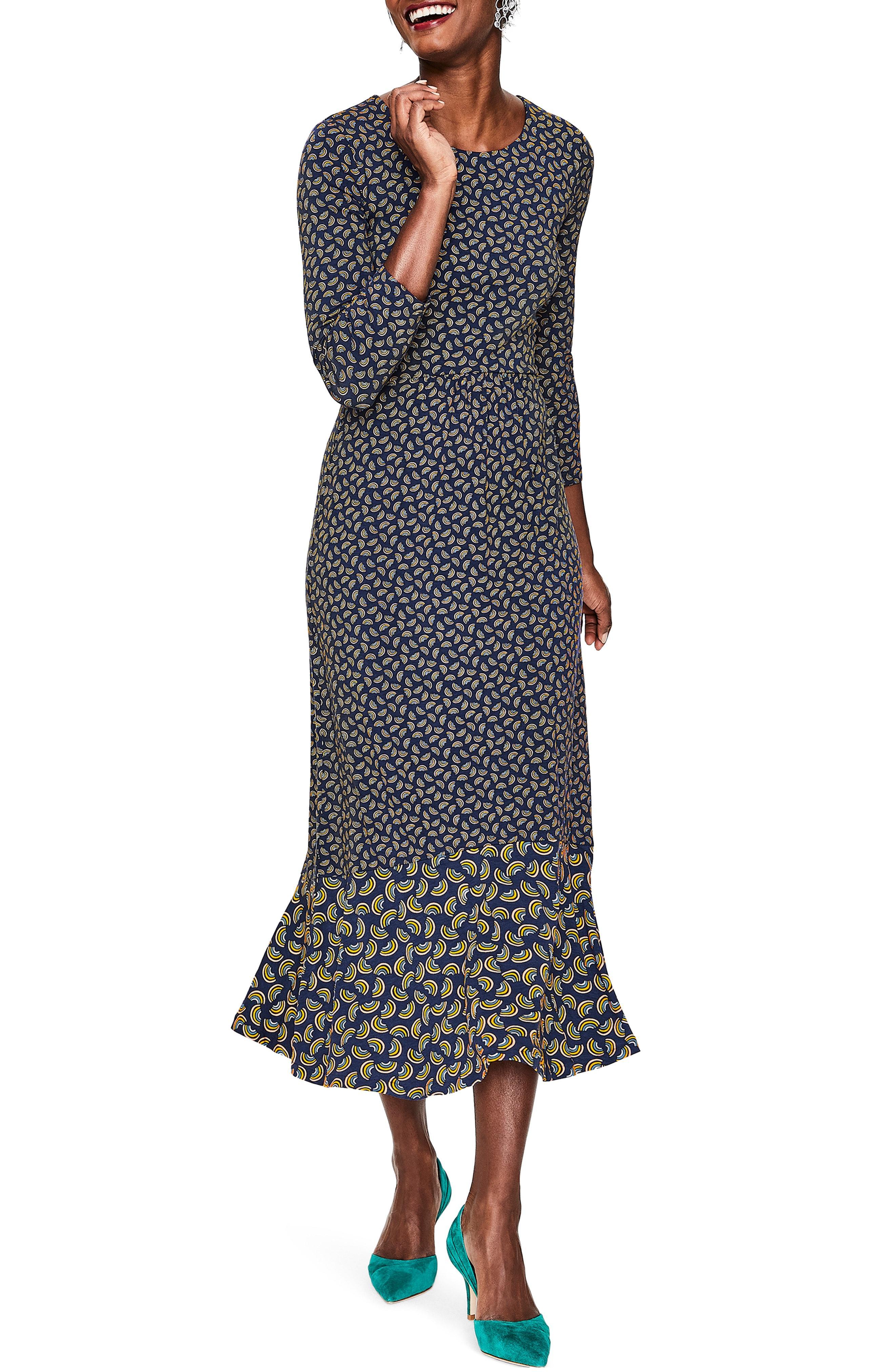 3b928f7ada2 Boden. Women's Philippa Jersey Midi Dress