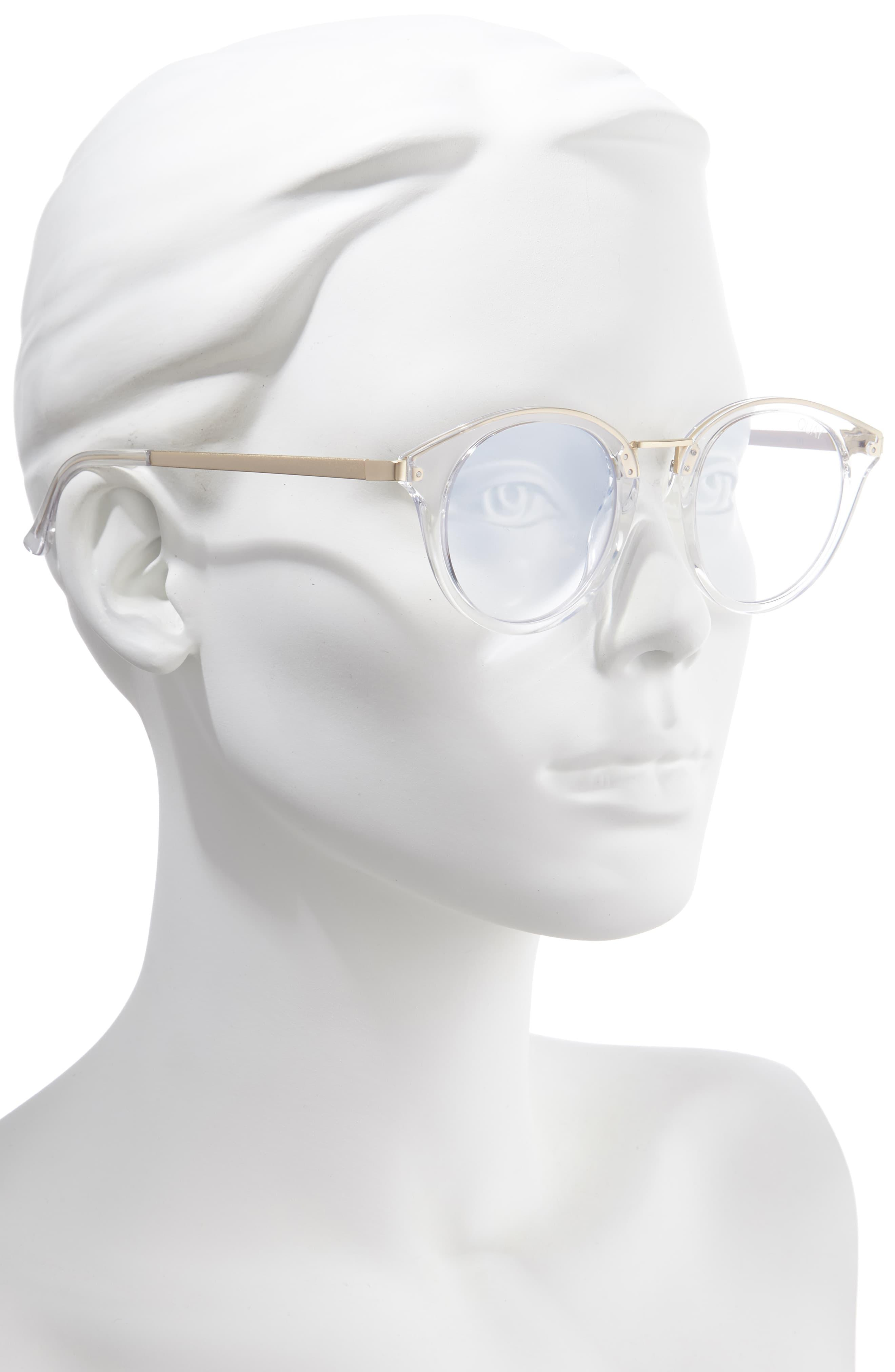Quay Gotta Run 46mm Blue Light Blocking Glasses Lyst