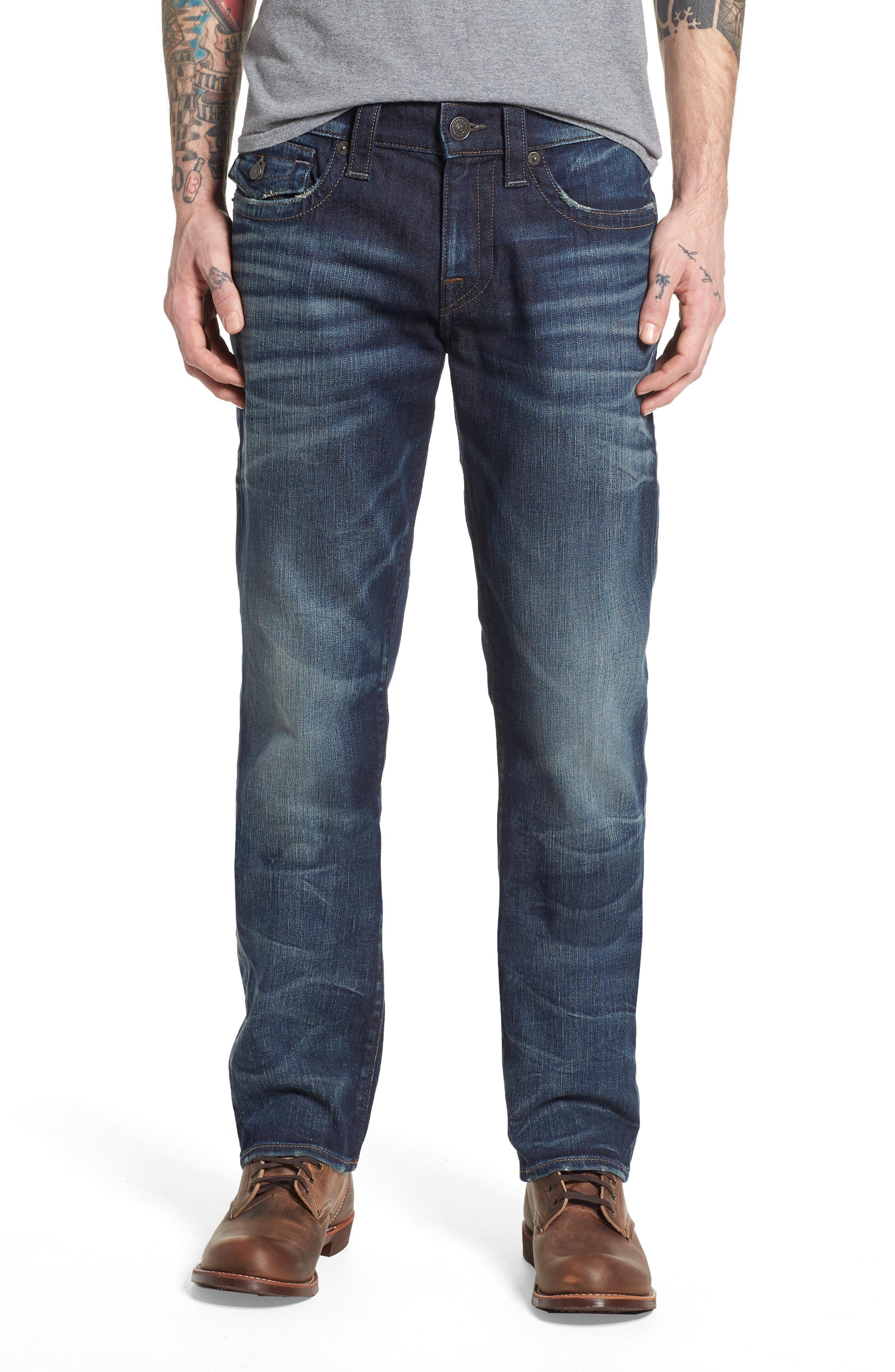 636ae15821371 True Religion Ricky Relaxed Fit Jeans in Blue for Men - Lyst