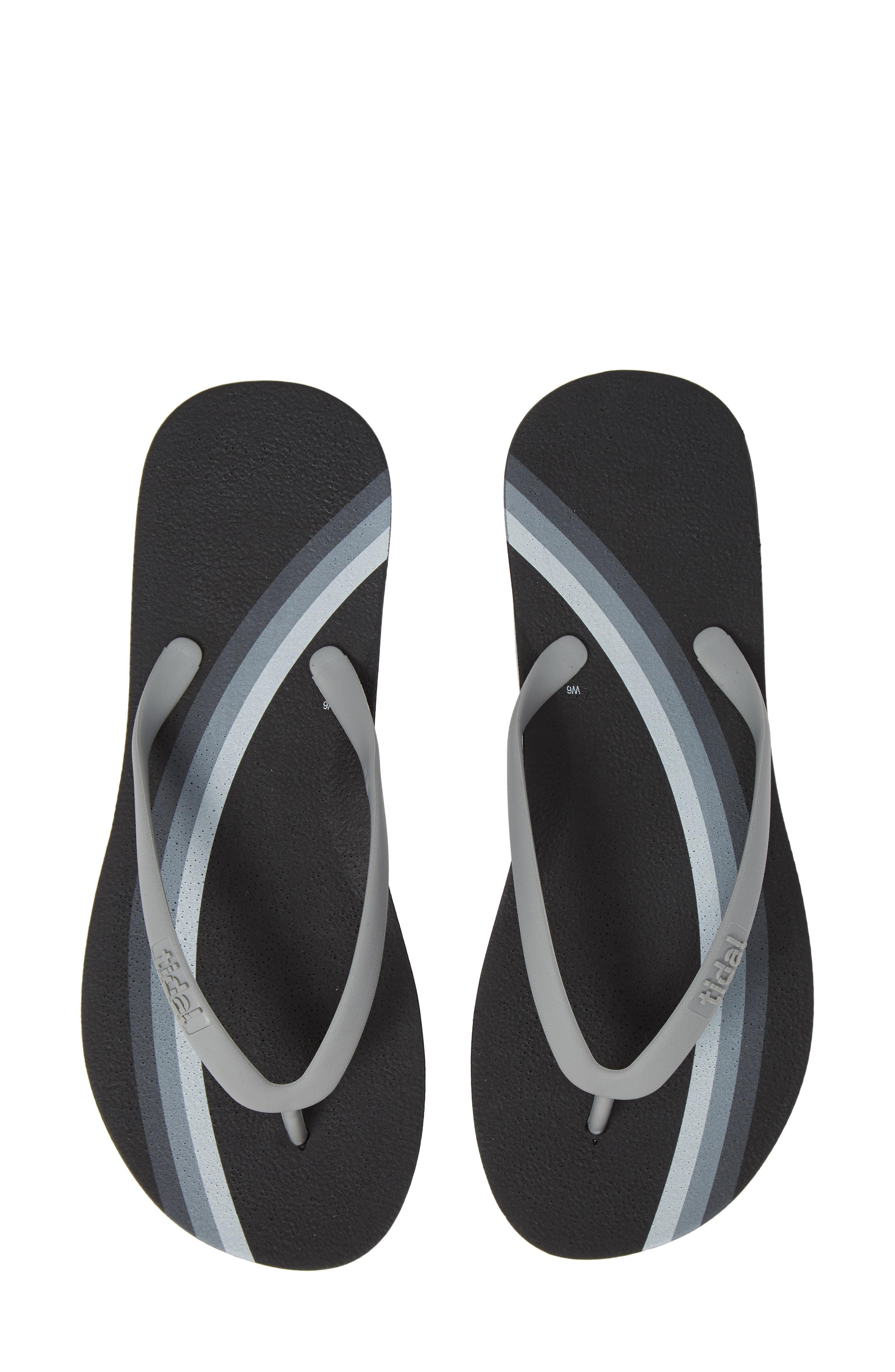 28573fb3905 Tidal. Women s Rainbow Stripe Flip Flop