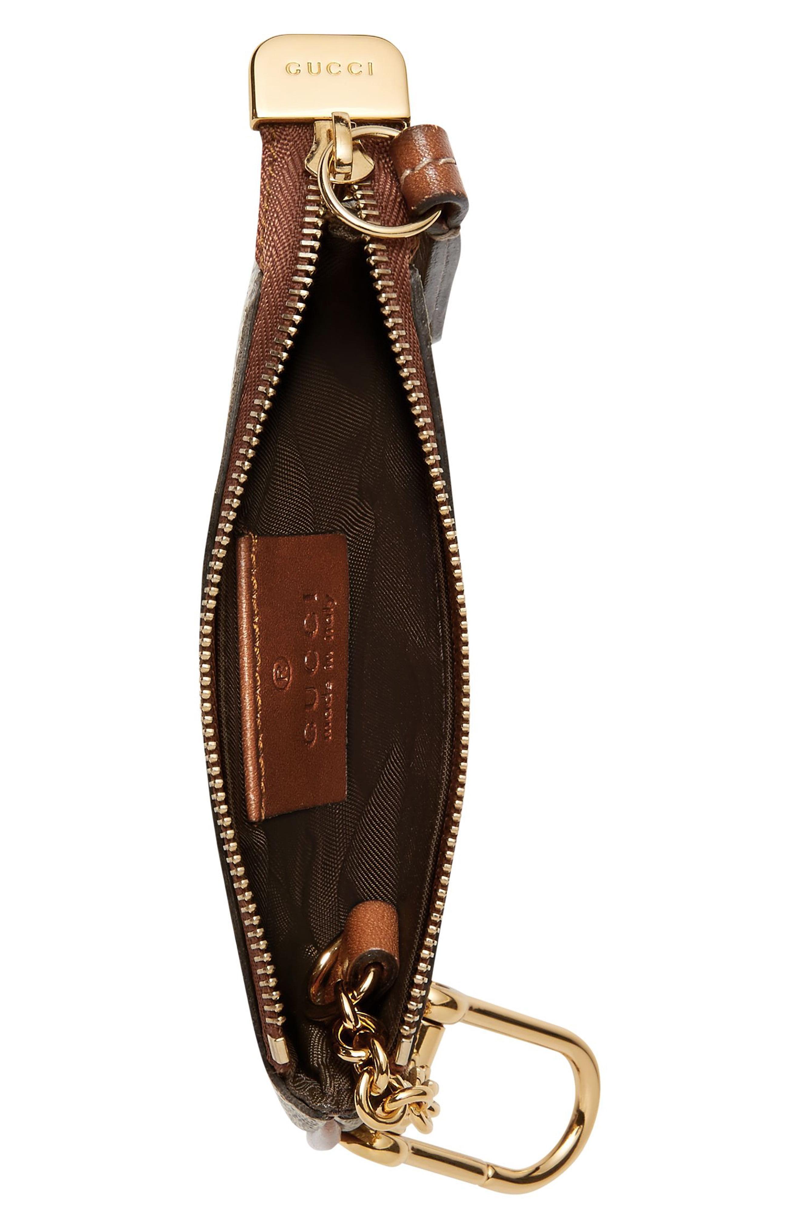 552f7b4a49e3 Lyst - Gucci GG Supreme Key Case