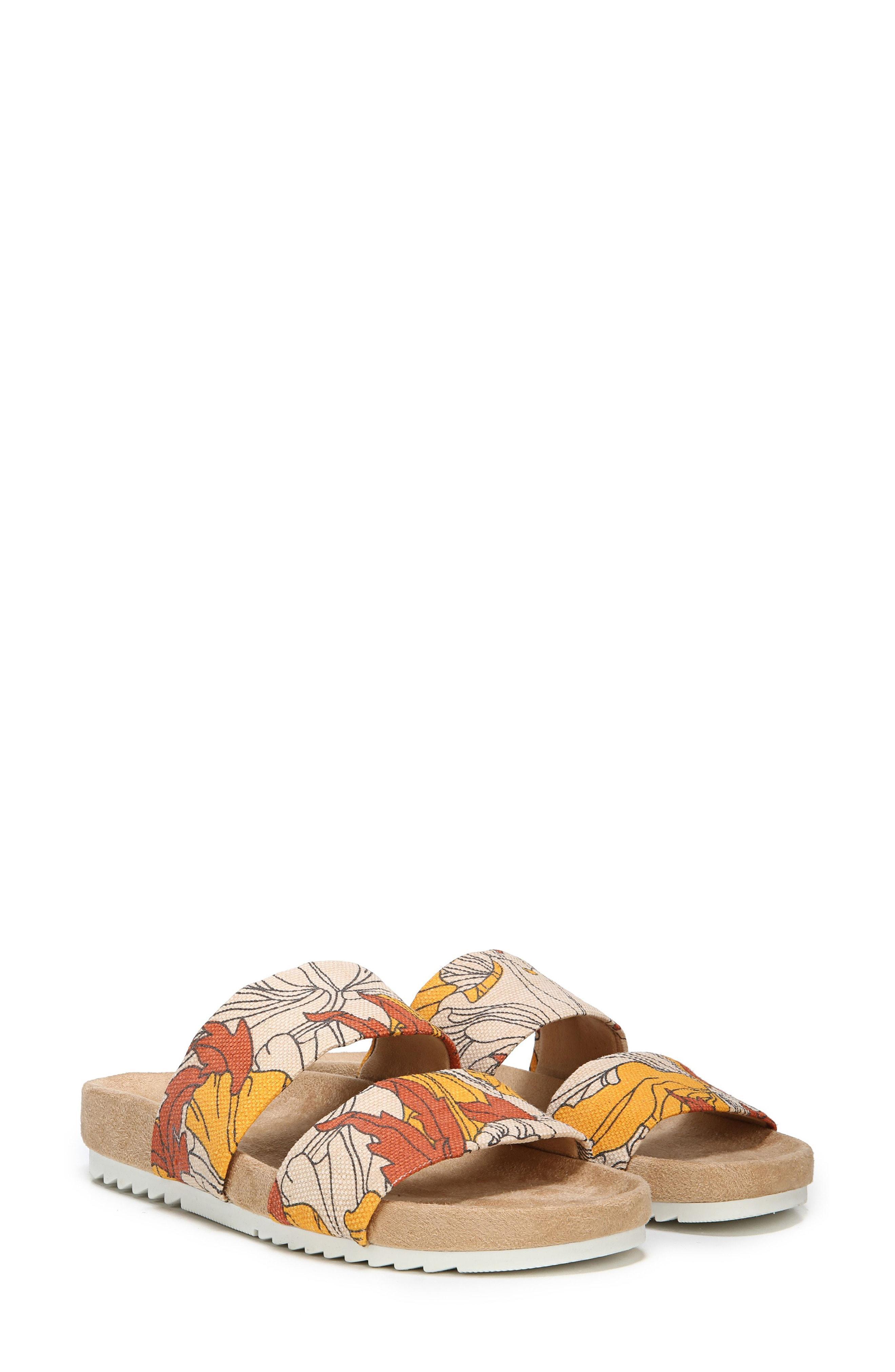 ab352483dffc Lyst - Naturalizer Amabella Slide Sandal in Orange