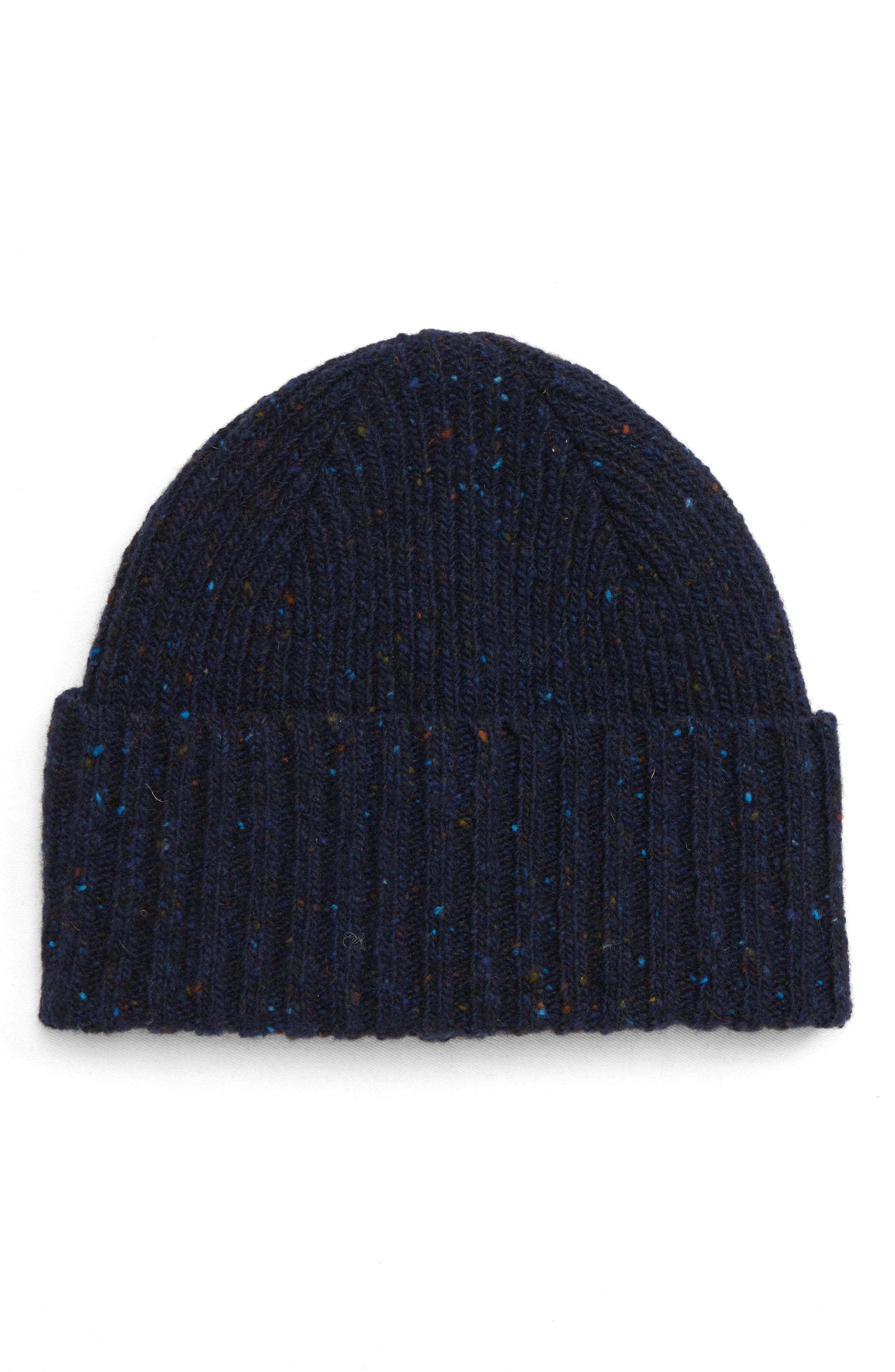 Lyst - Drake S Drakes Donegal Wool Beanie - in Blue for Men 8402c59be1c8