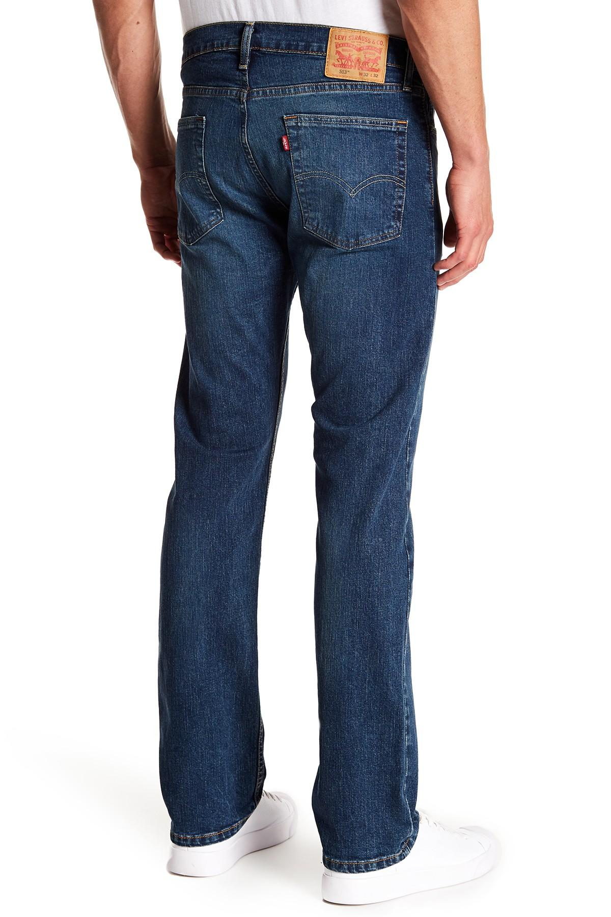 02b0c53b Levi's 513 Vines Slim Straight Fit Jeans - 30-34