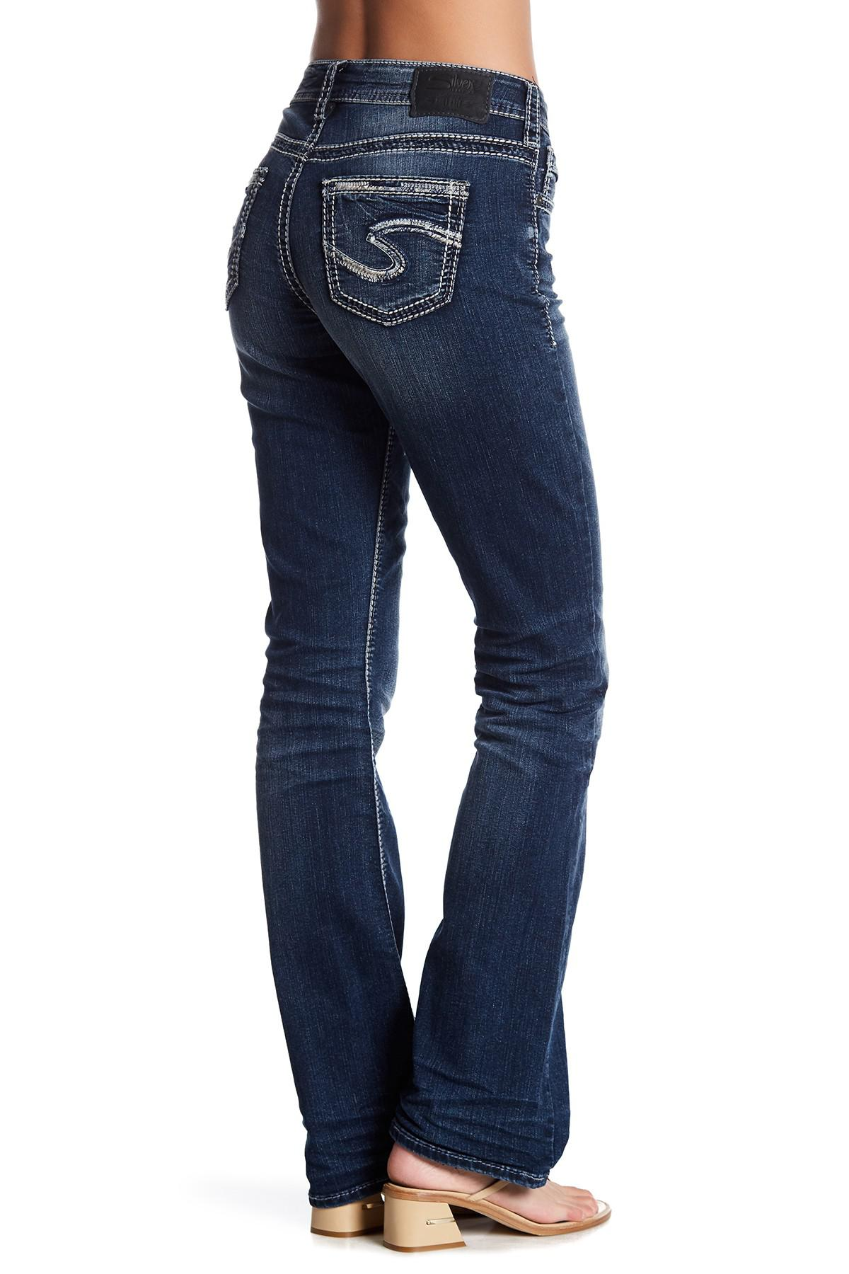 Lyst - Silver Jeans Co. Suki High Rise Bootcut Jean - 33