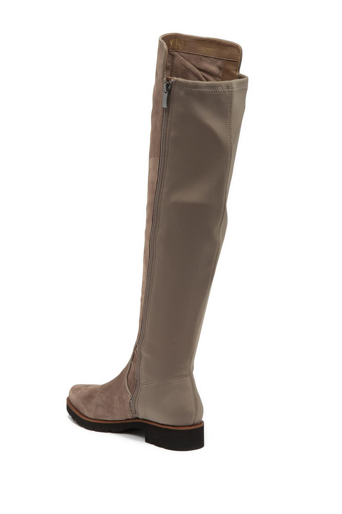 19ceb873ce9 Franco Sarto - Brown Benner Leather Over-the-knee Boot - Lyst. View  fullscreen