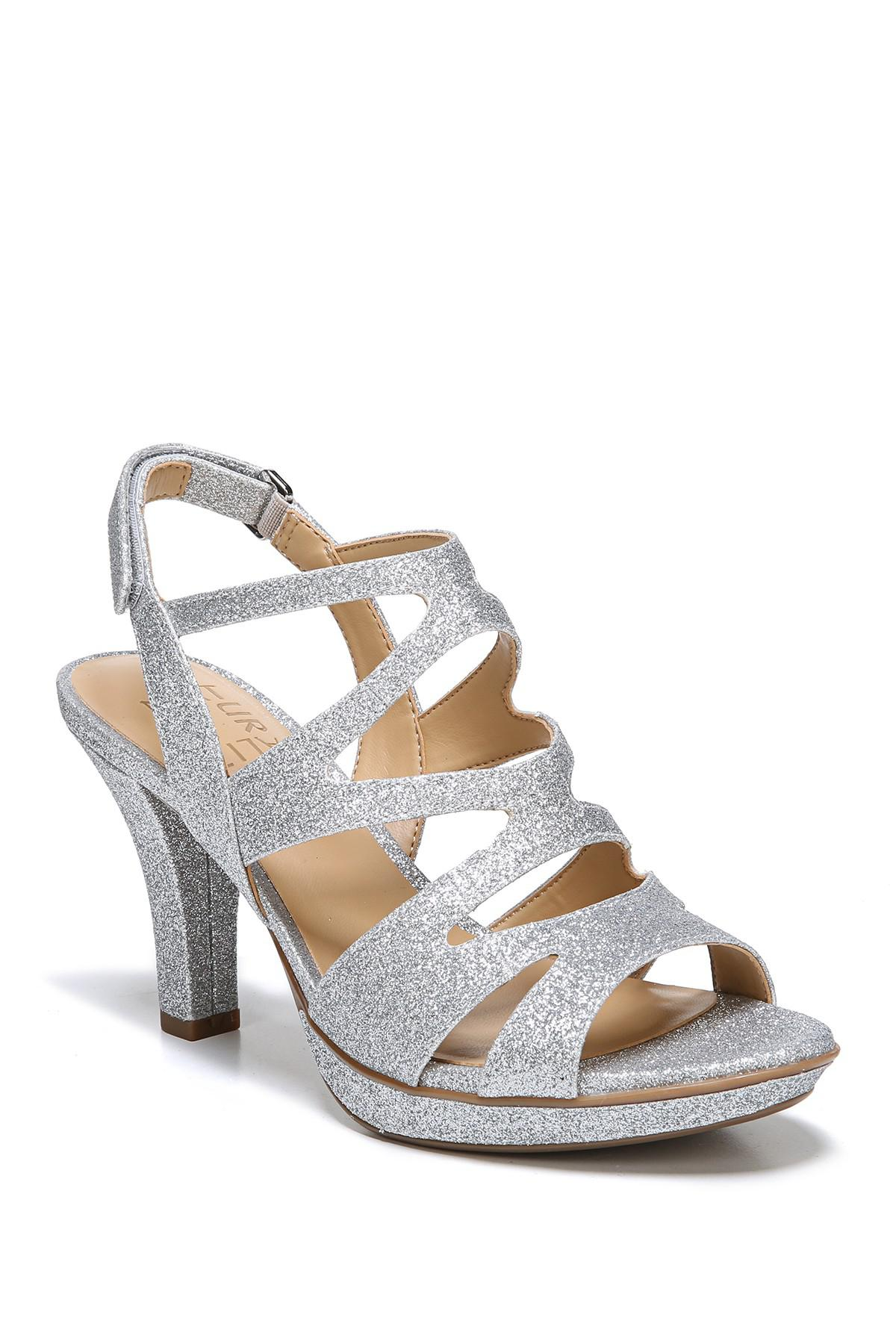 e69d0c8ef8f Naturalizer. Women s Metallic Dianna Strappy Heeled Sandal - Wide Width  Available