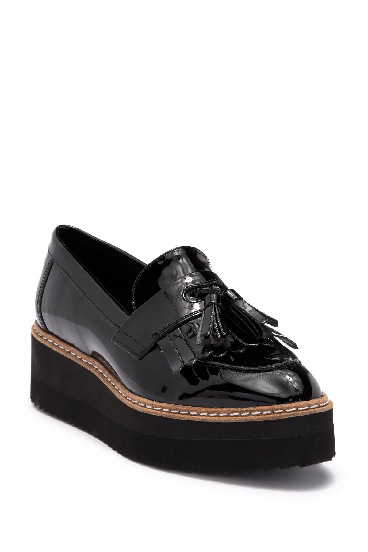 Shellys London Toby Leather Tassel Loafer cXdky