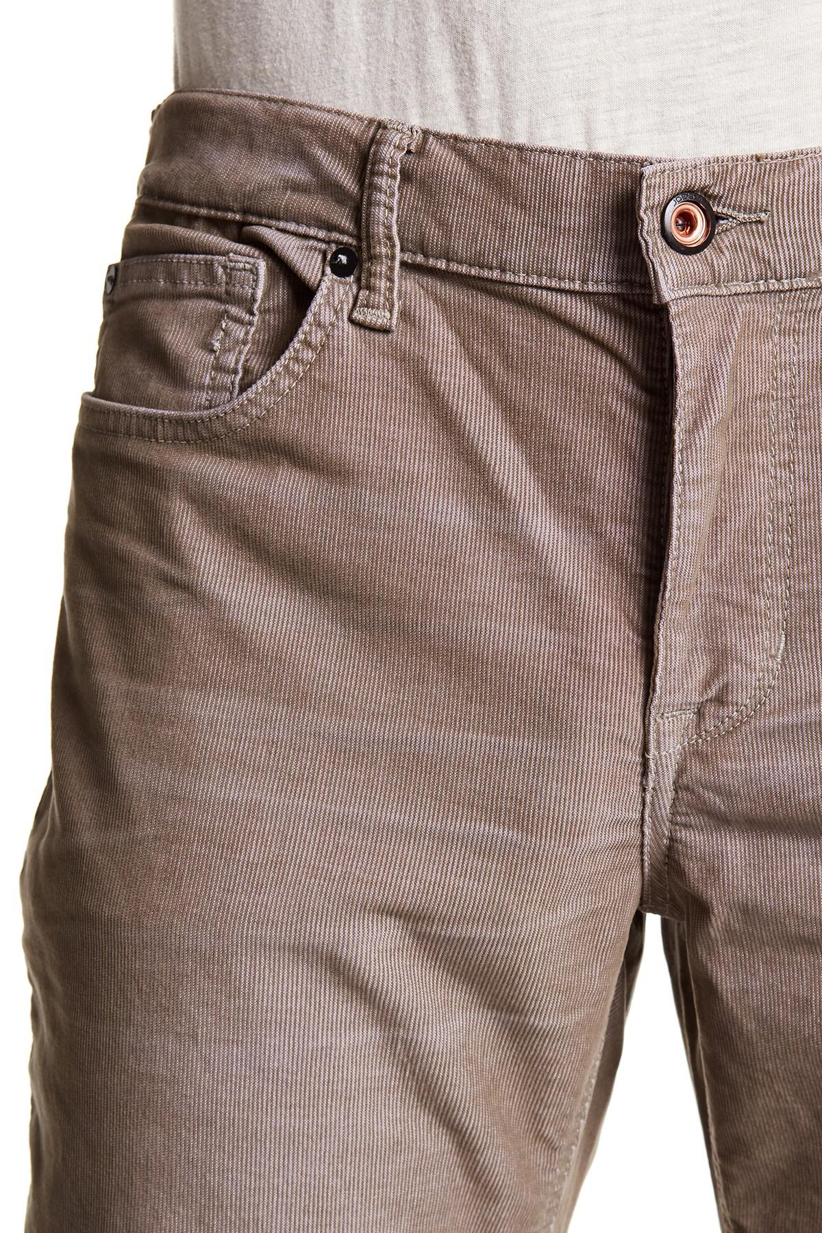 3194686b Lyst - Joe's Jeans Brixton Straight & Narrow Corduroy Pants for Men