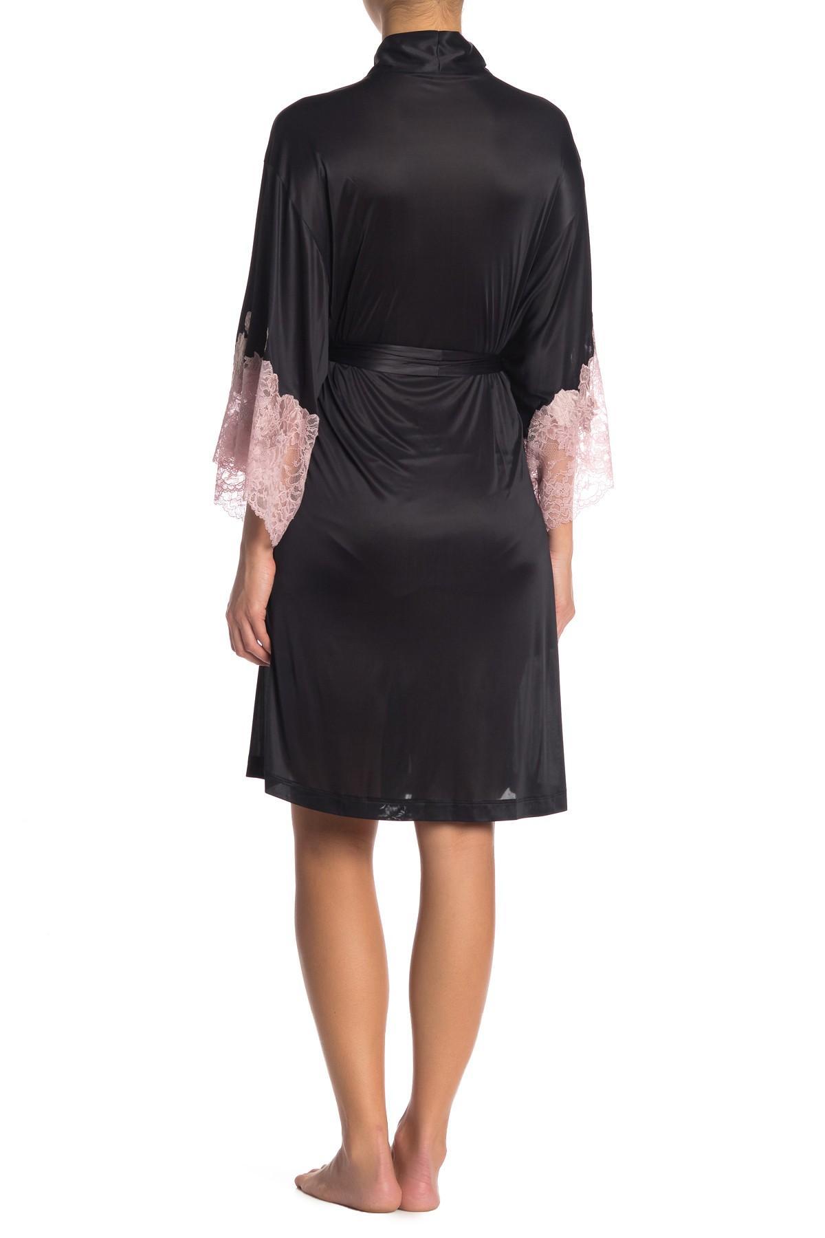 e768e1c71a Josie Natori - Black Lace Cuff Wrap - Lyst. View fullscreen