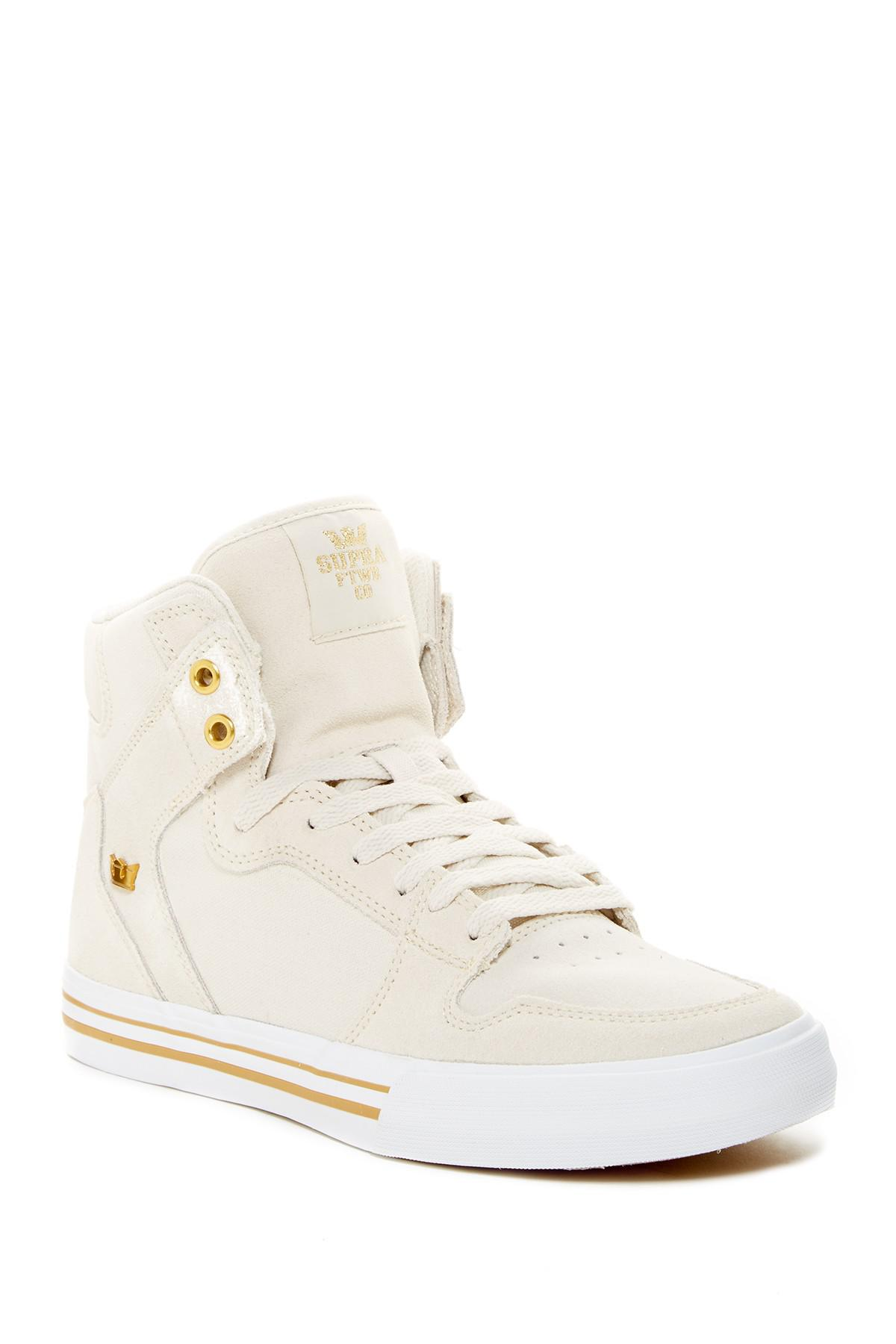 94f100d448 Lyst - Supra Vaider High Top Sneaker in White for Men