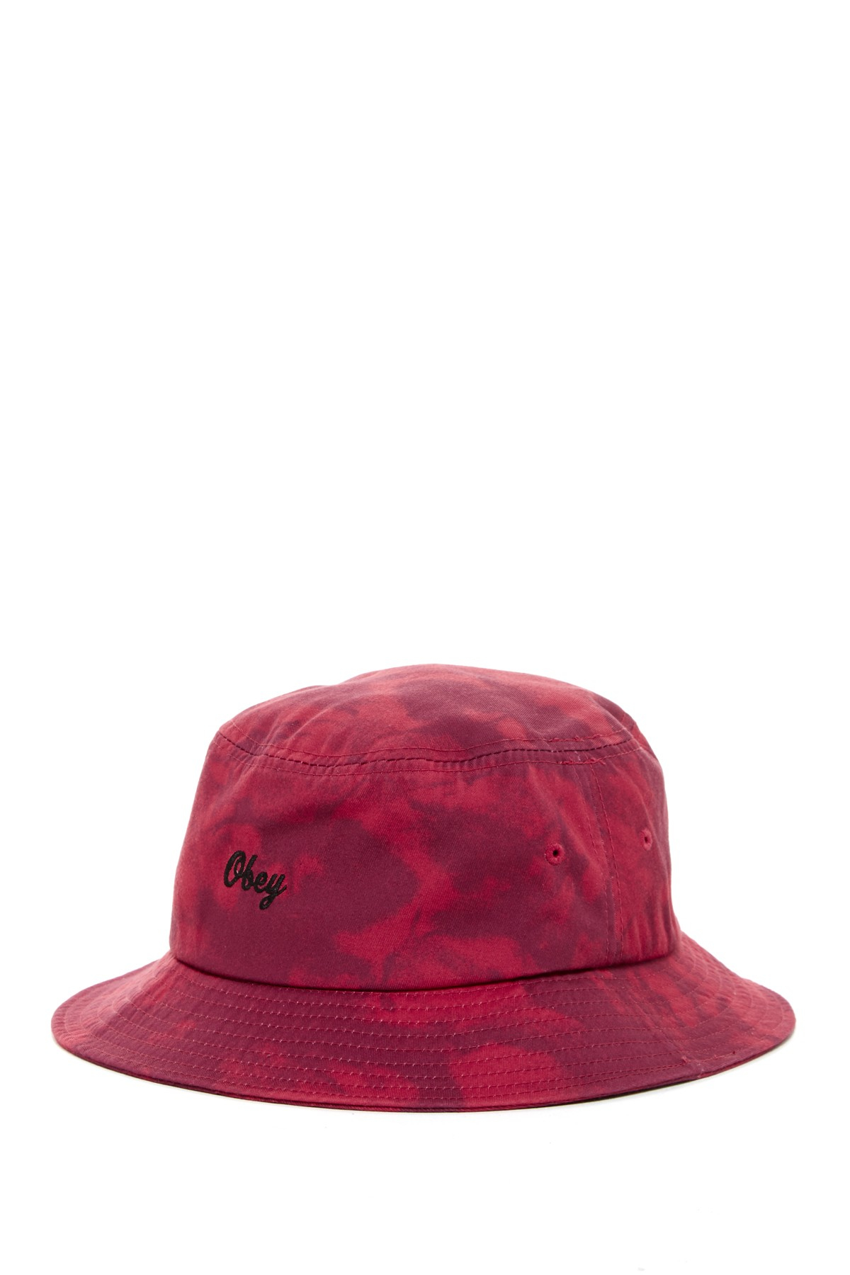 obey haight bucket hat in pink burgundy save 41 lyst