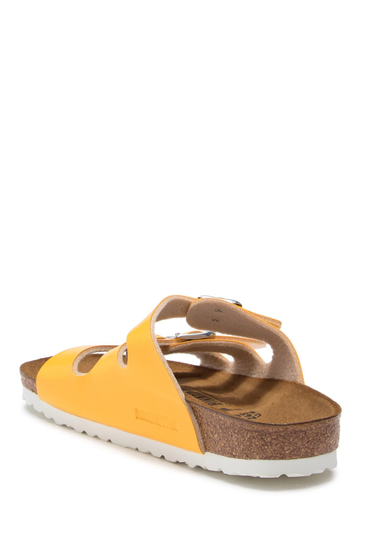 2661e925b3a Lyst - Birkenstock Florida Soft Footbed Sandal - Discontinued in Yellow