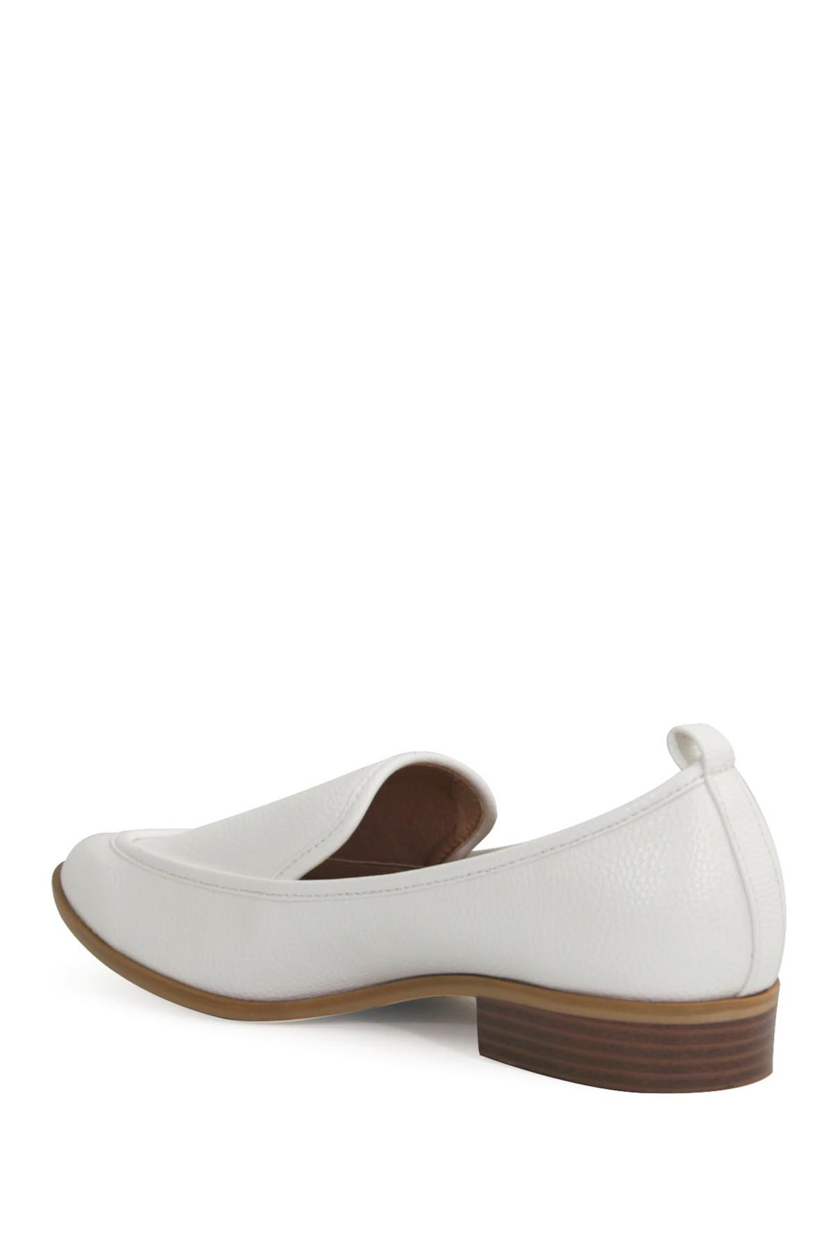 f56e824b9ee Catherine Malandrino - White Westly Low Heel Loafer - Lyst. View fullscreen