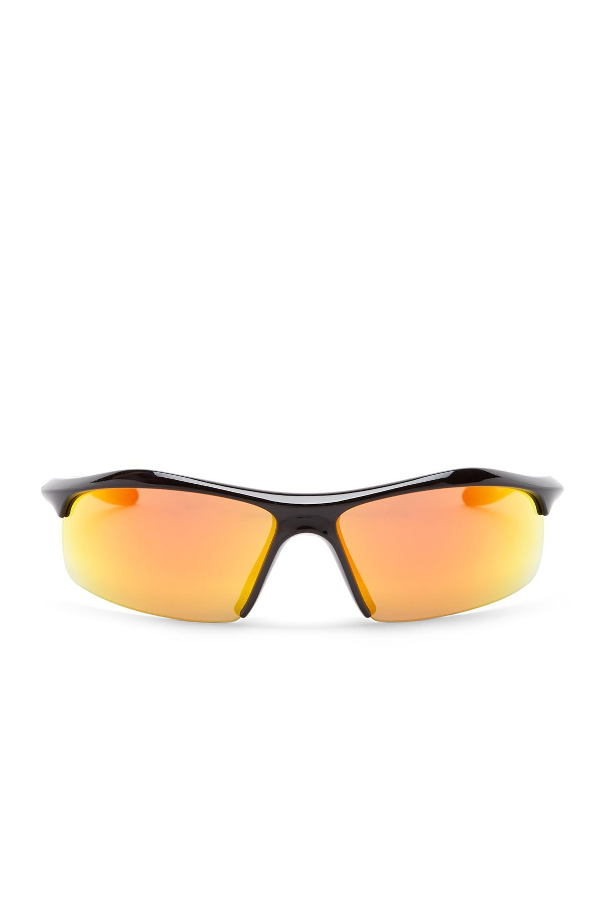 428dffcbe8 Lyst - Under Armour Zone 69mm Sunglasses in Black for Men