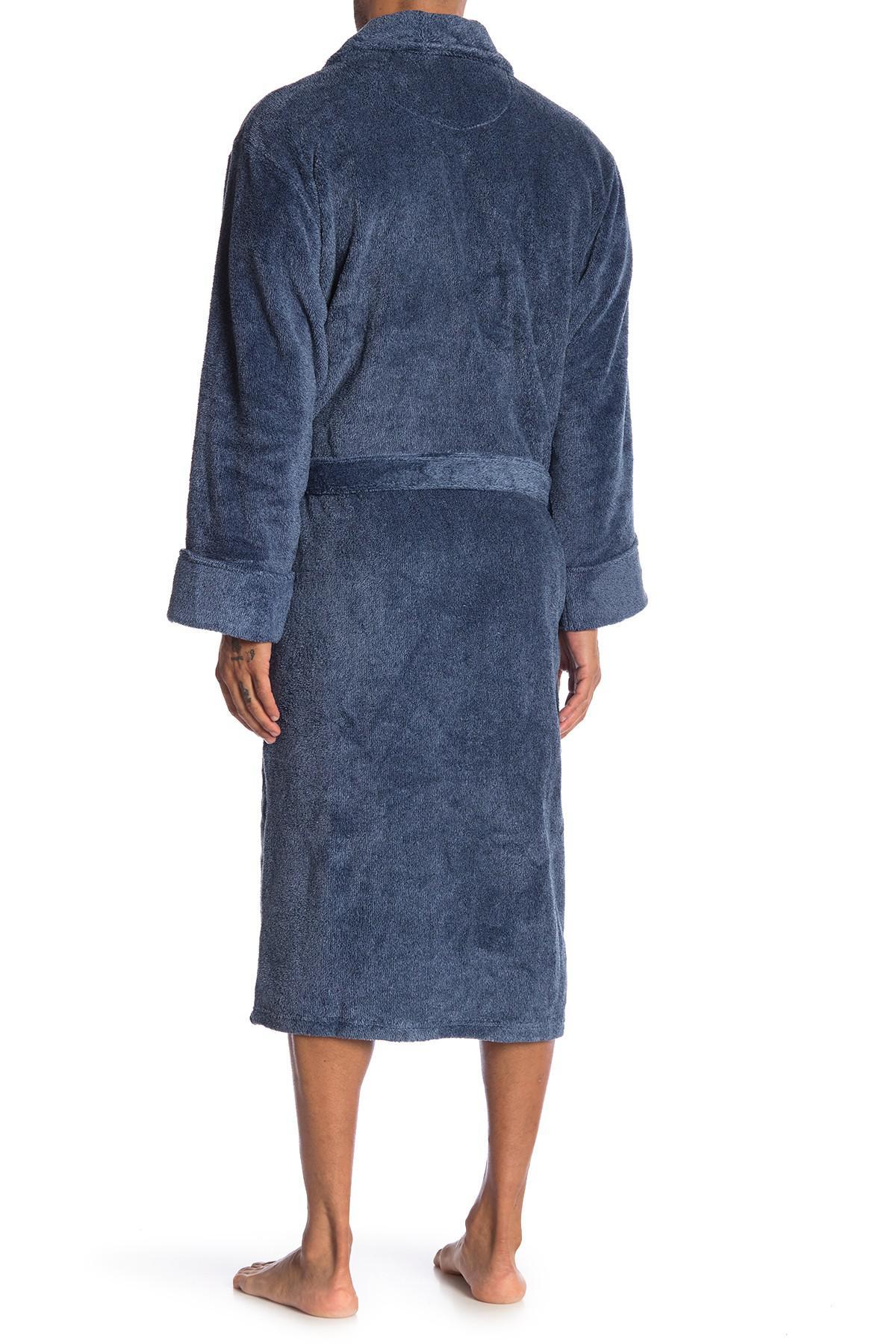 Daniel Buchler - Blue Heather Soft Robe for Men - Lyst. View fullscreen 4a6b04fda