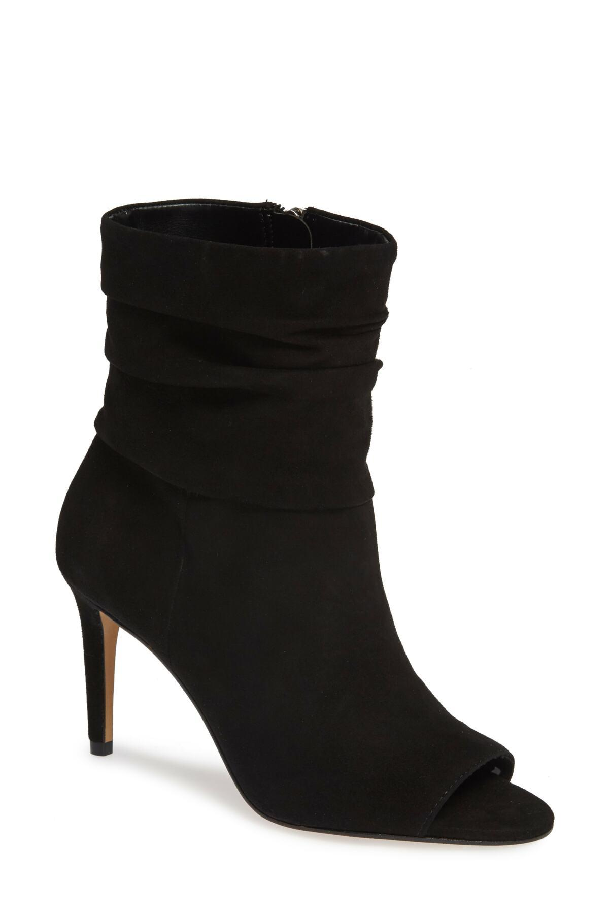 fb563a31c95 Vince Camuto. Black Catillia Open Toe Bootie (women).  150  60 From Nordstrom  Rack