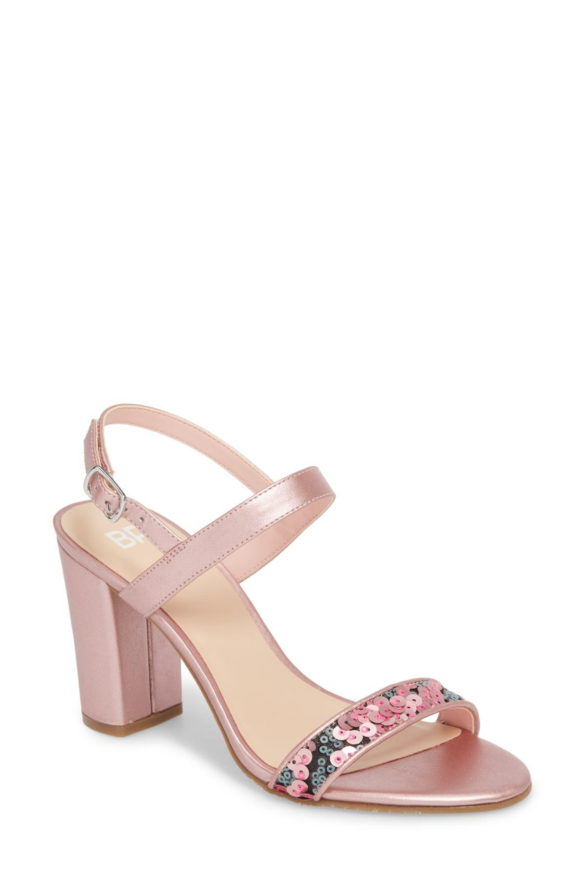 8b124fed6c88 Lyst - BP. Lula Block Heel Slingback Sandal (women) in Pink