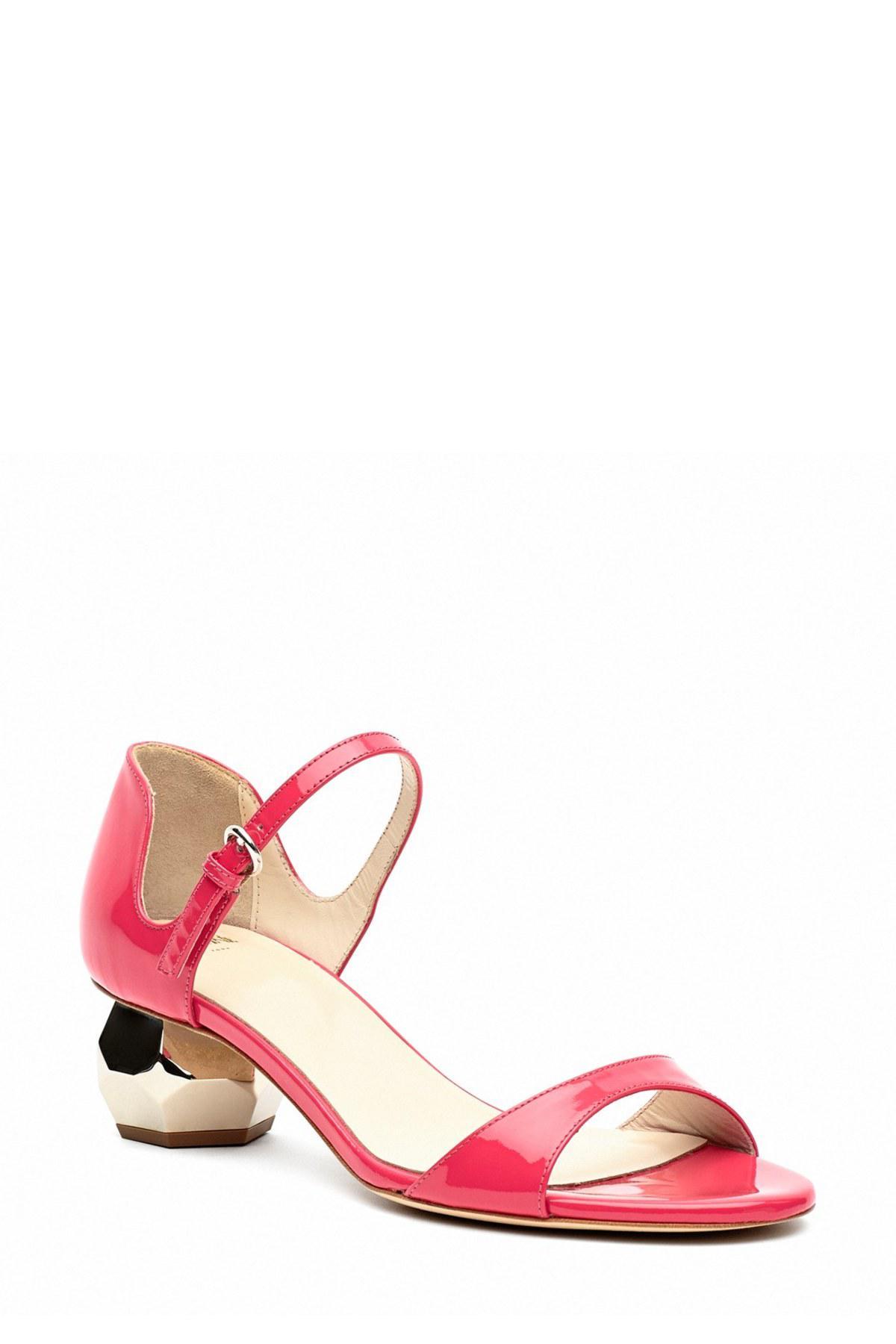 21ce0fd5a124c Lyst - Frances valentine Bella Ankle Strap Sandal in Pink