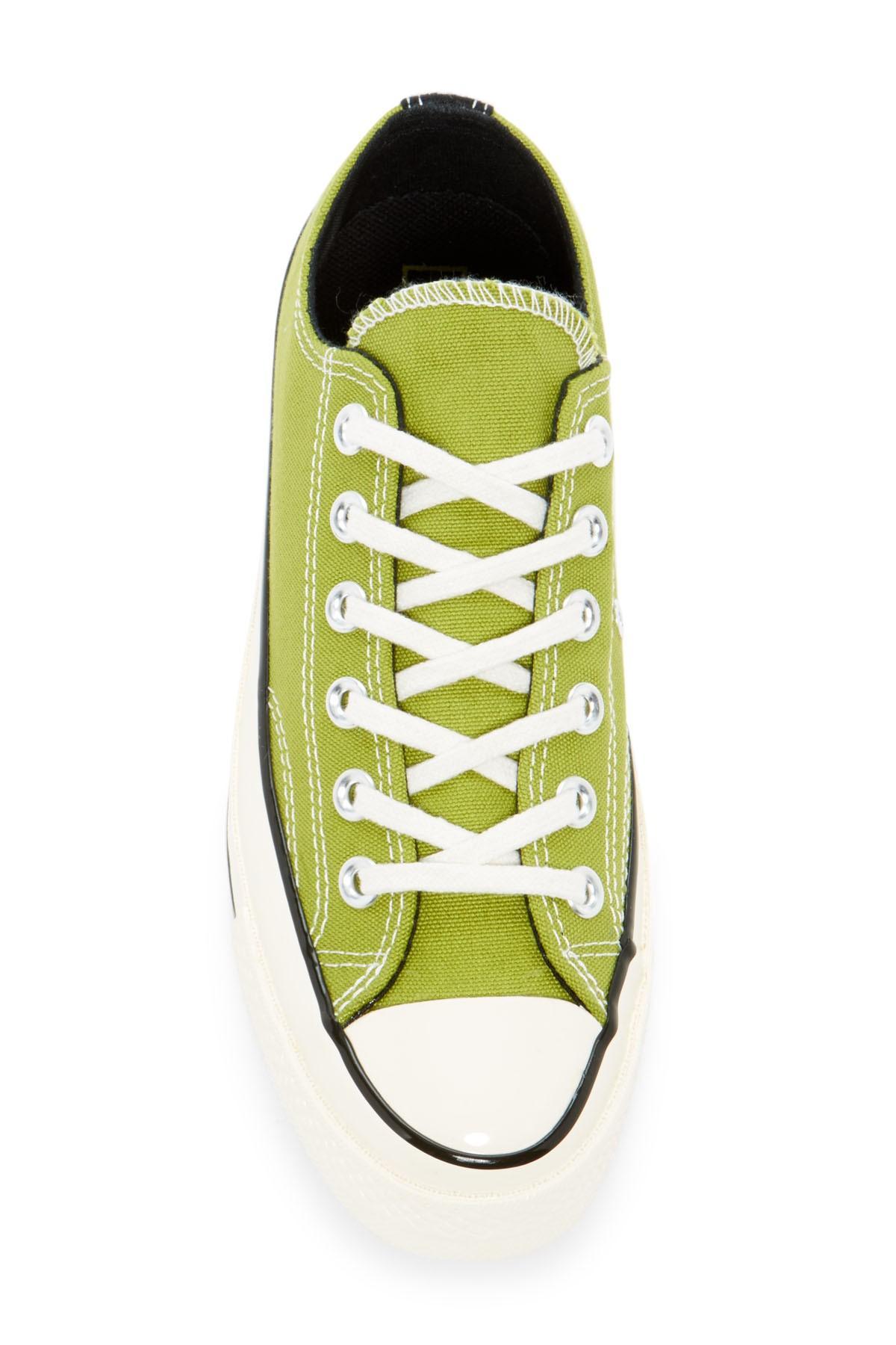 d15c519df6a7 Lyst - Converse Chuck Taylor Ox Low Top Sneaker (unisex) in Green ...