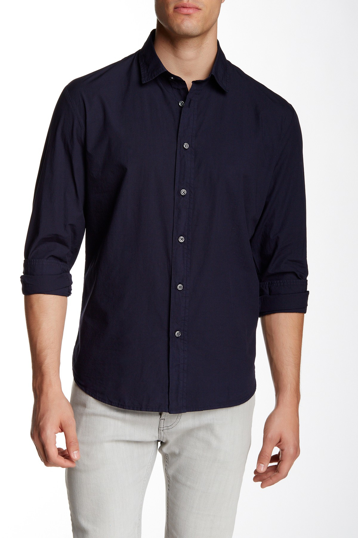 Slate And Stone Clothing : Lyst slate stone adrian micro check regular fit shirt