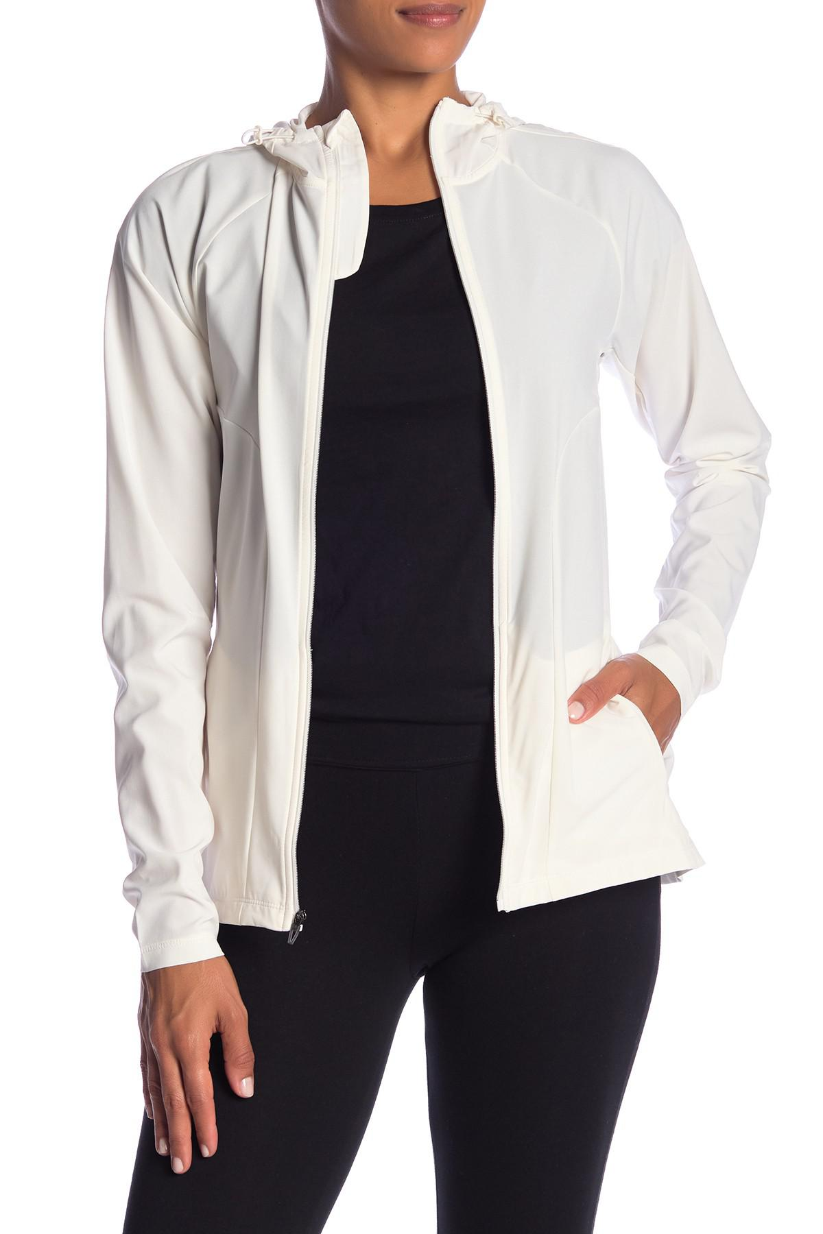 2b73eb2831cb Lyst - adidas Freelift Woven Jacket