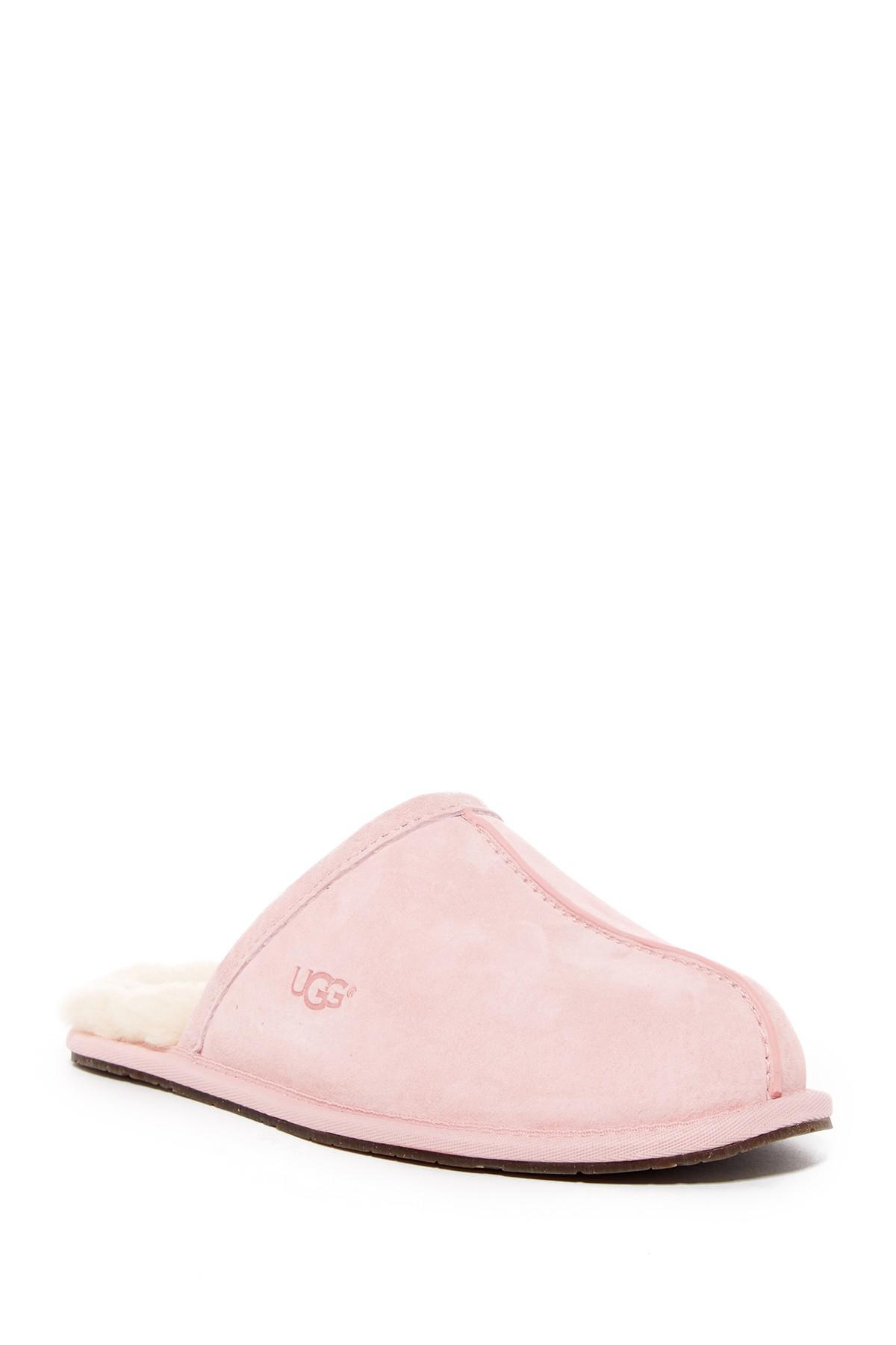 Lyst - UGG Pearle Genuine Shearling Lined Slipper in Pink 4a4622cd2