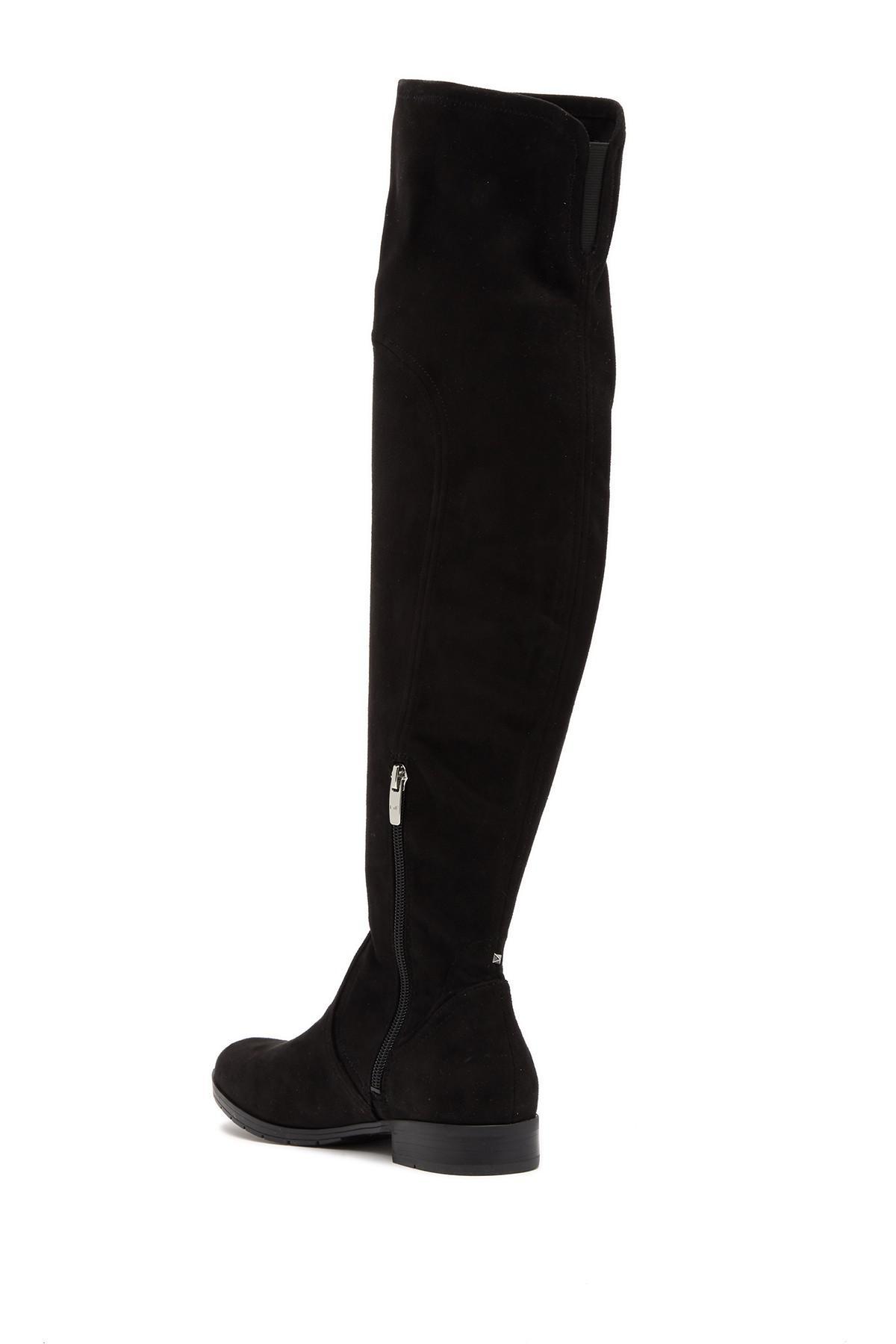 821c1172b36 Marc Fisher - Black Jet Tall Boot - Lyst. View fullscreen