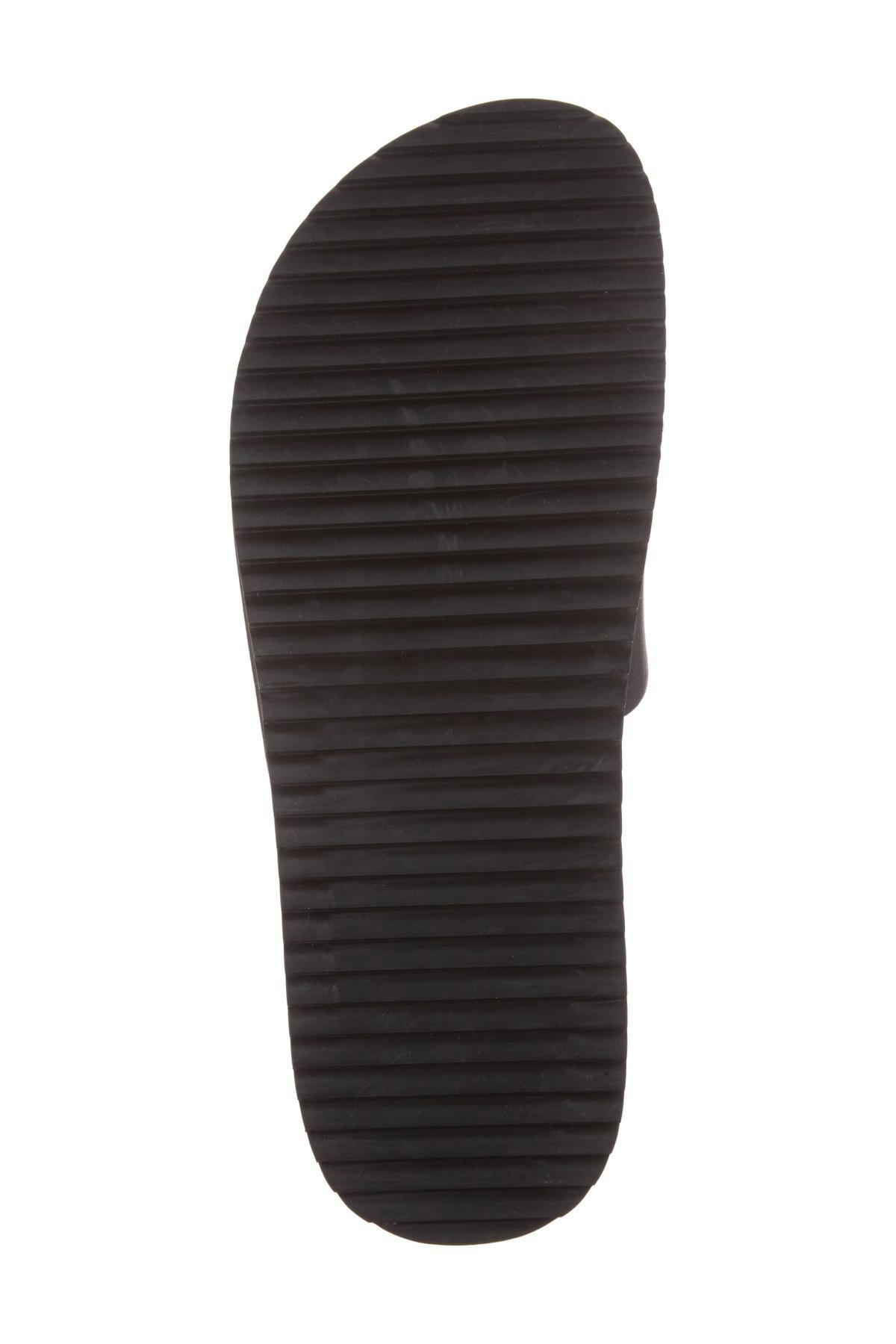 3a88d6304d5d57 Lyst - Steve Madden Jen Studded Platform Slide Sandal in Black